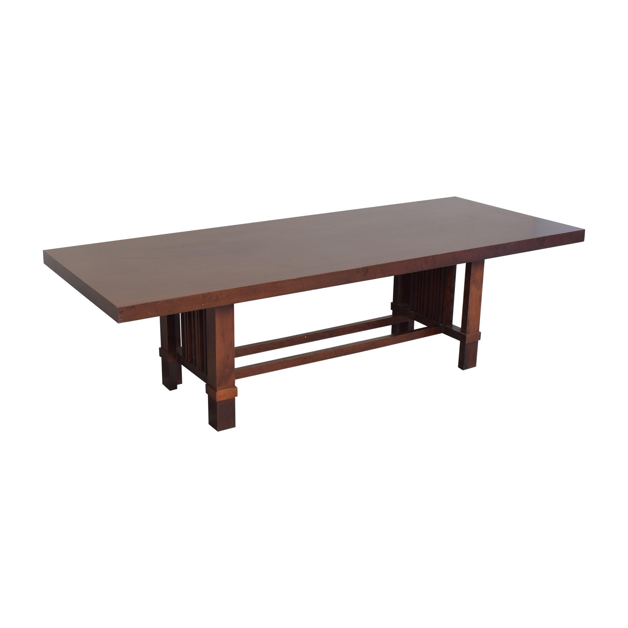 buy Cassina Frank Lloyd Wright Taliesin Dining Table Cassina Dinner Tables