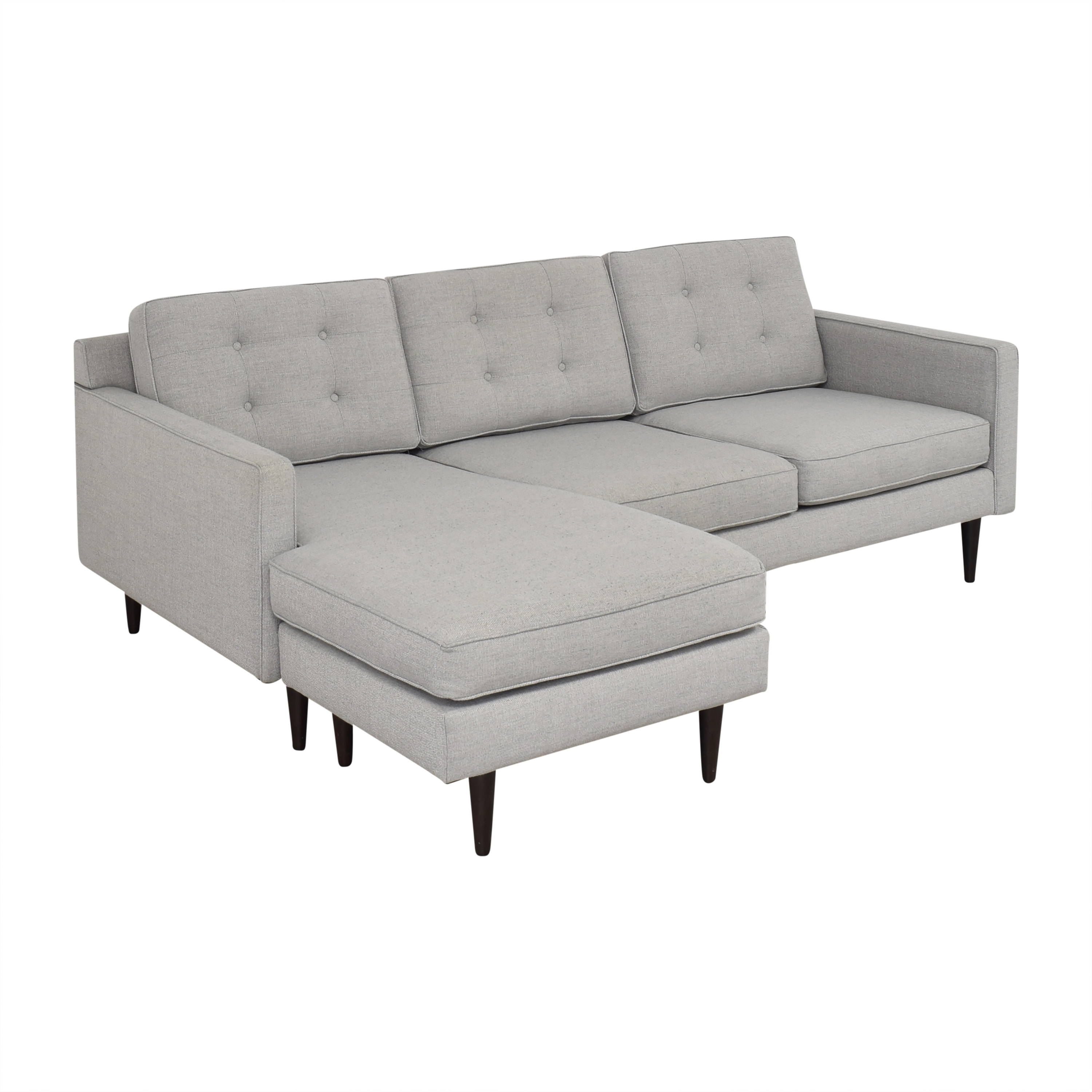 West Elm West Elm Drake Reversible Chaise Sectional Sofa Sectionals