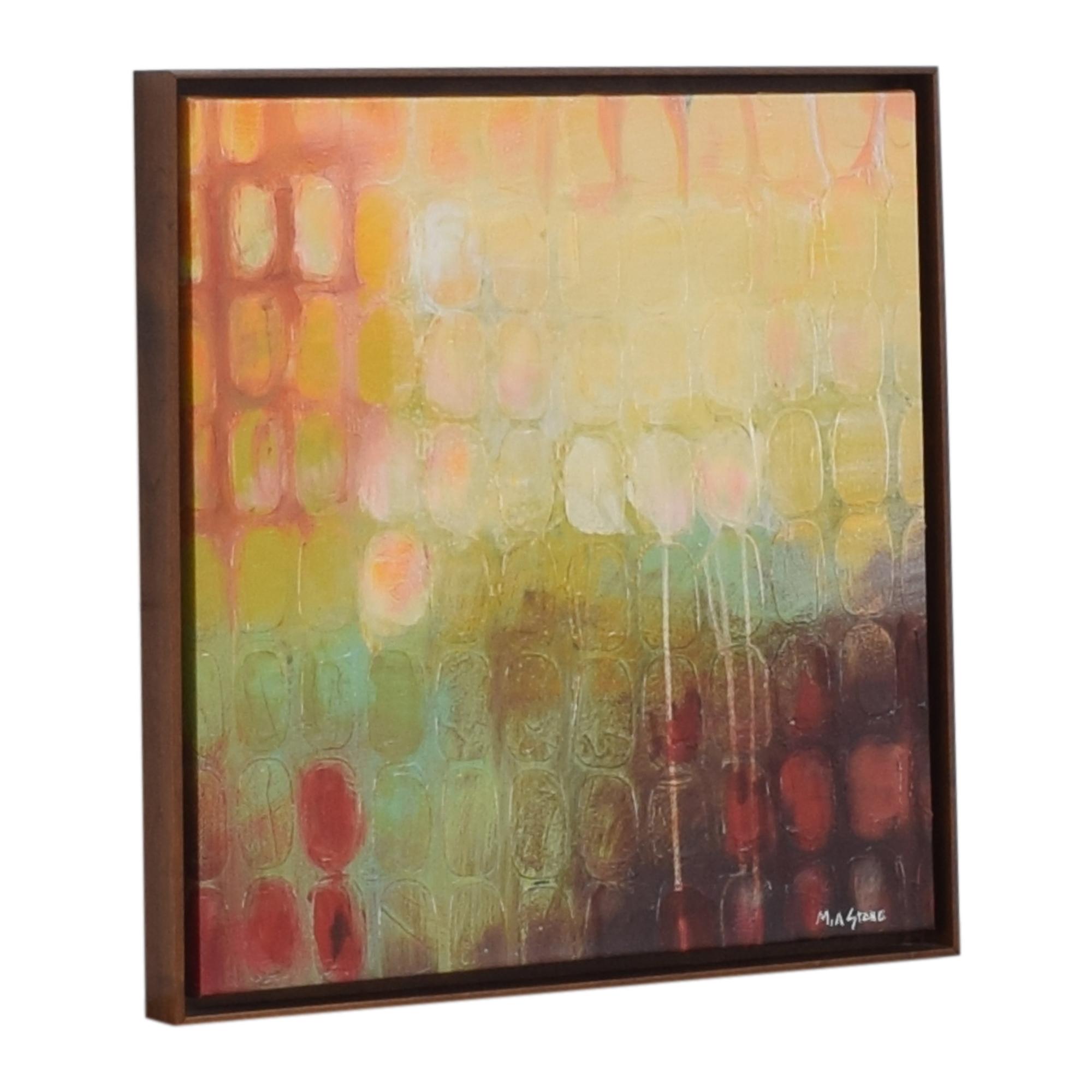 buy Mia Stone Framed Wall Art  Decor