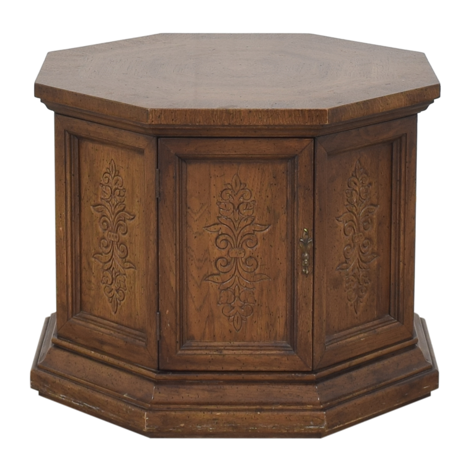 American of Martinsville American of Martinsville Octagonal End Table used