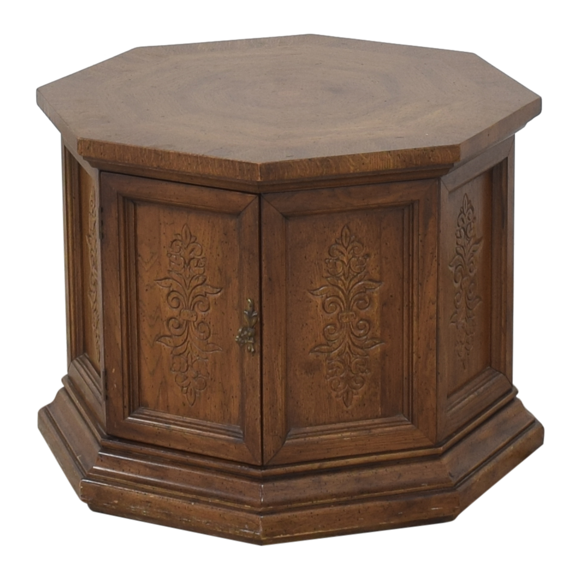 American of Martinsville Octagonal End Table / End Tables