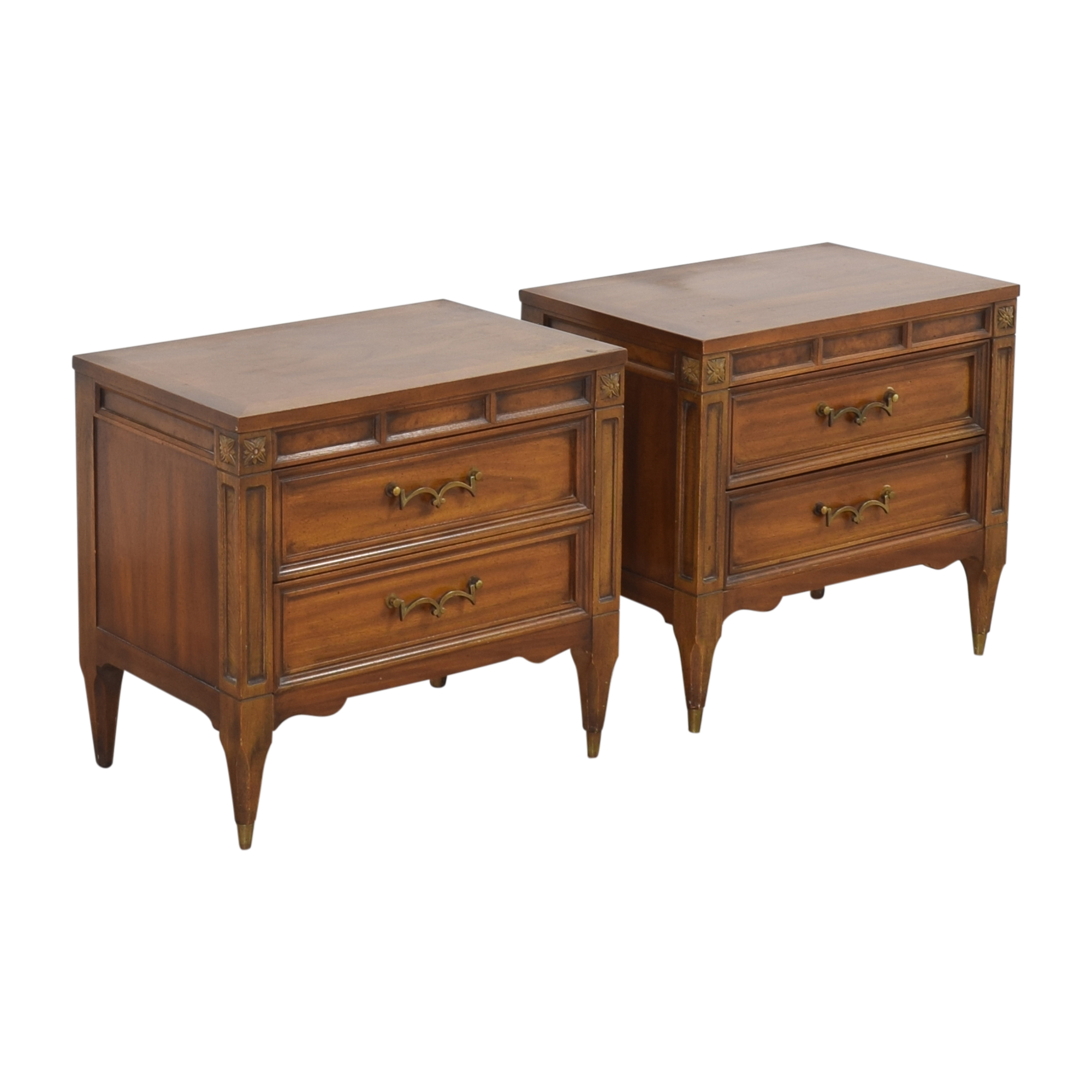buy American of Martinsville Two Drawer Nightstands American of Martinsville