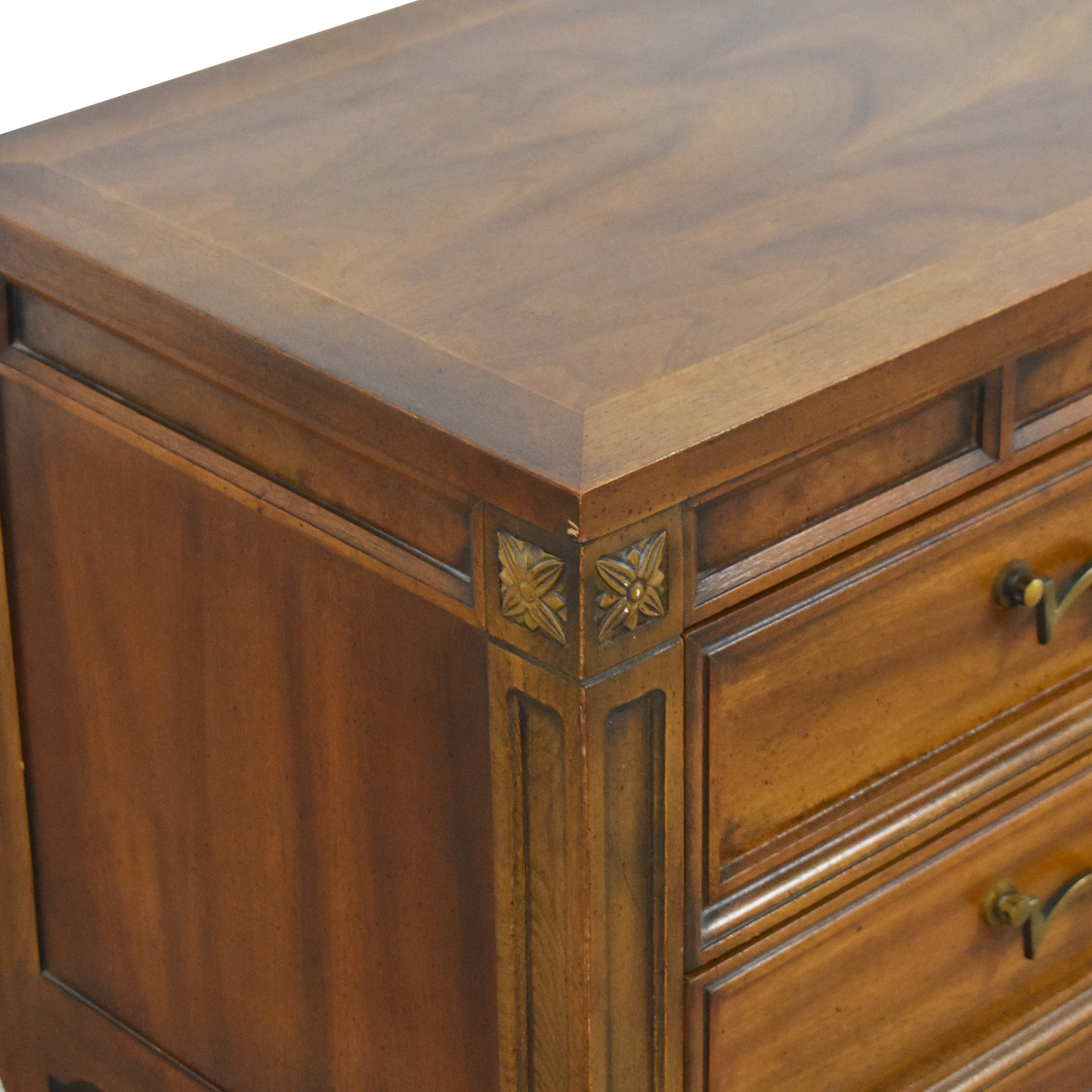 American of Martinsville American of Martinsville Two Drawer Nightstands Tables