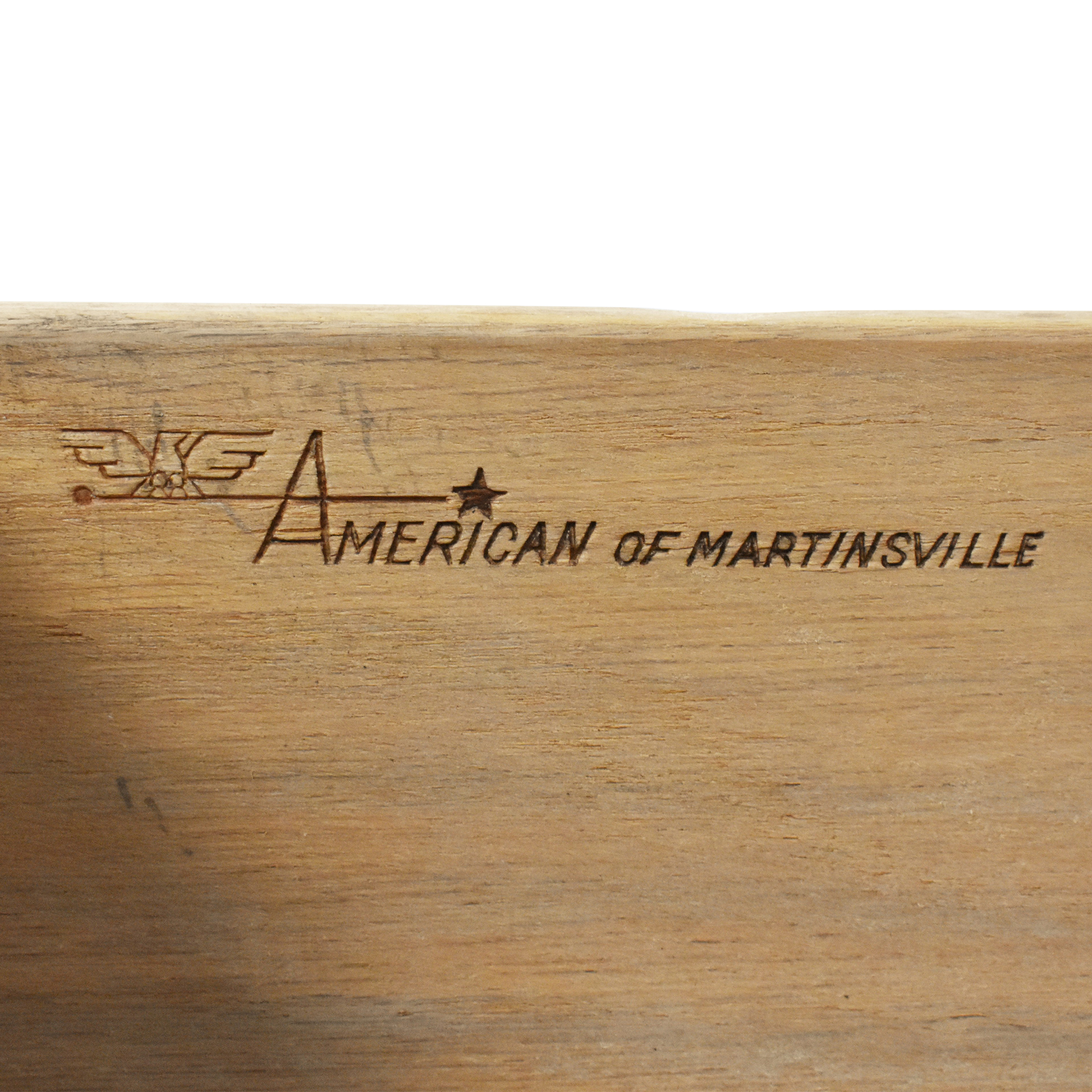 shop American of Martinsville Two Drawer Nightstands American of Martinsville End Tables