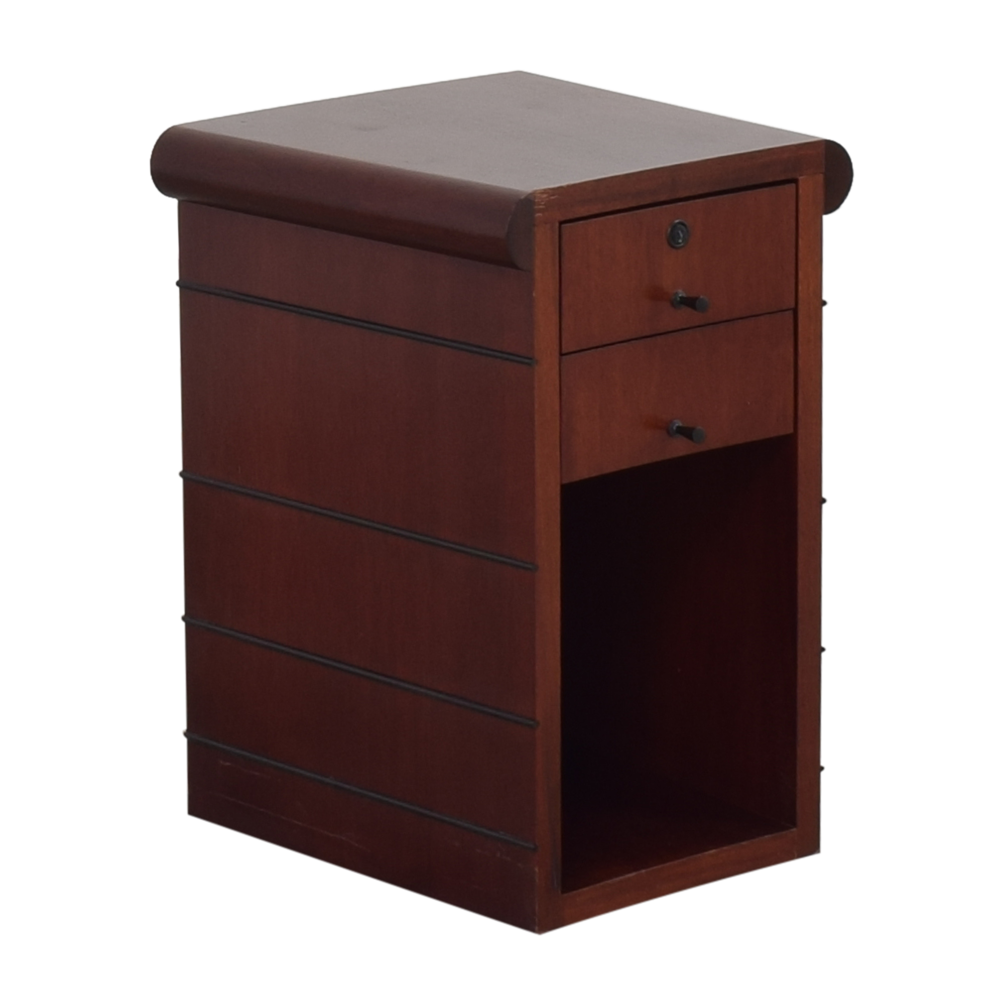 Two Drawer End Table pa