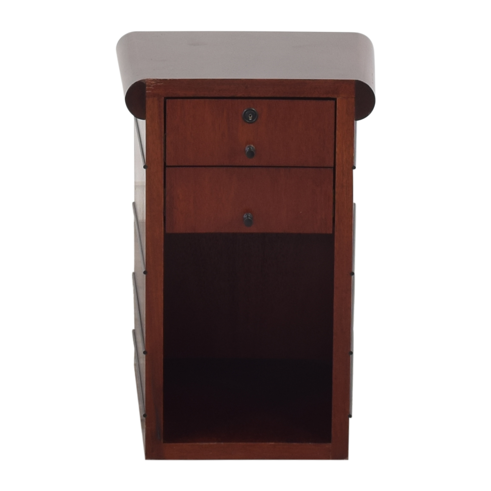 Two Drawer End Table price
