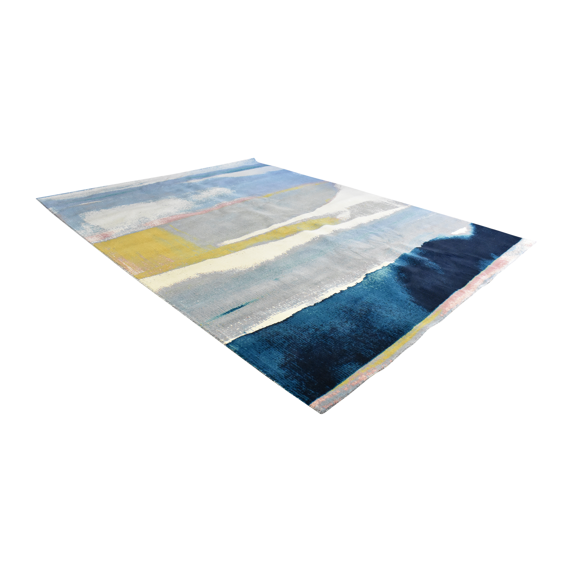West Elm West Elm Sun-Kissed Landscape Rug dimensions