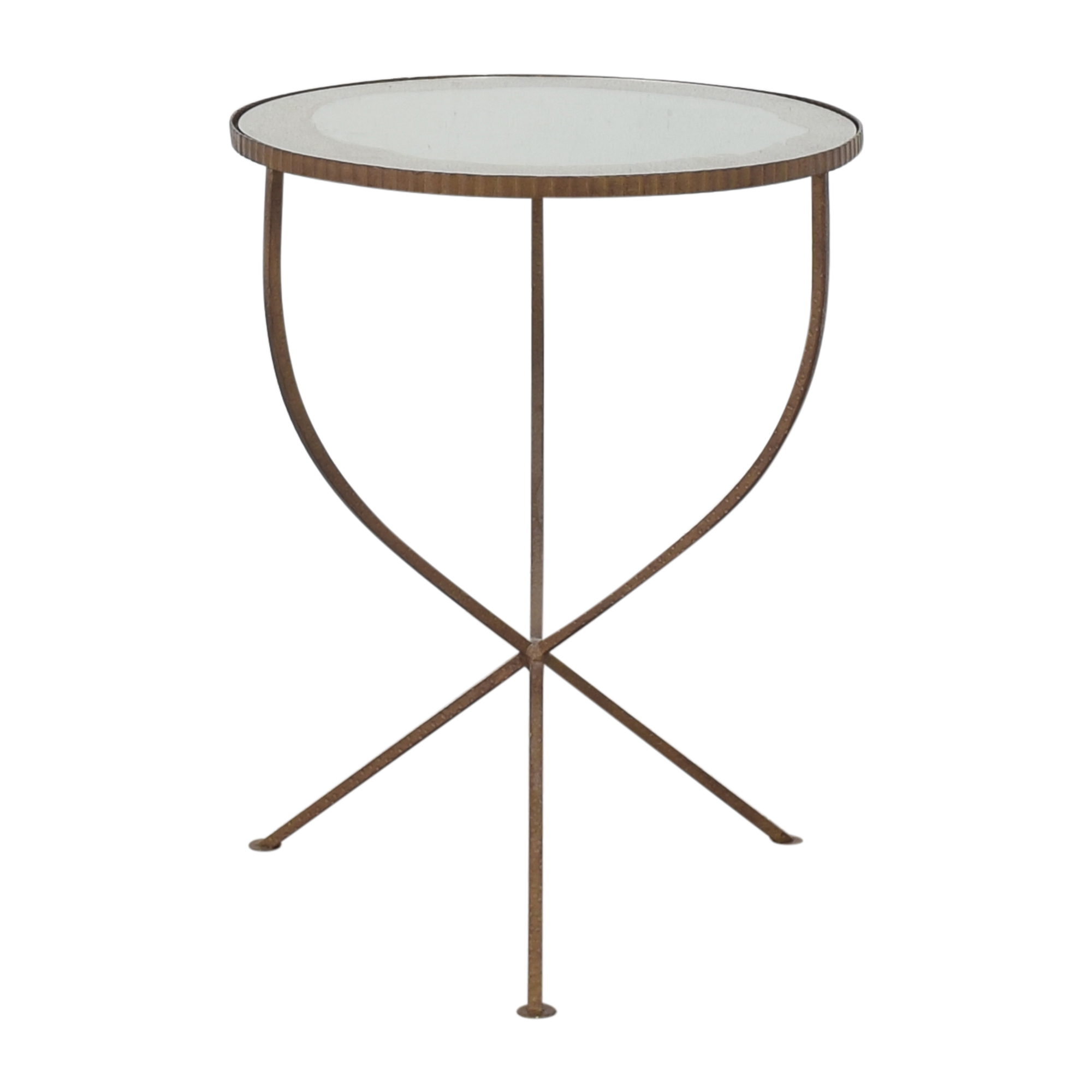 Crate & Barrel Crate & Barrel Round Coffee Table ma