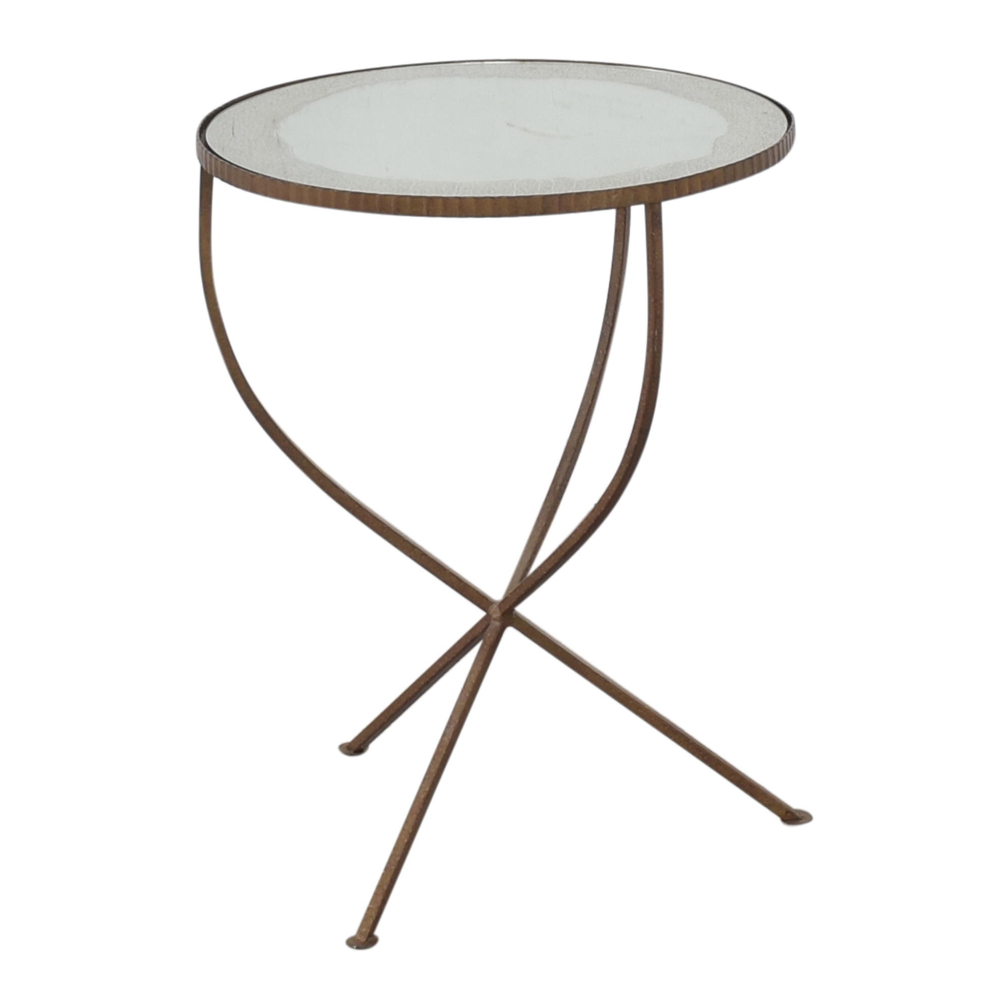 buy Crate & Barrel Round Coffee Table Crate & Barrel