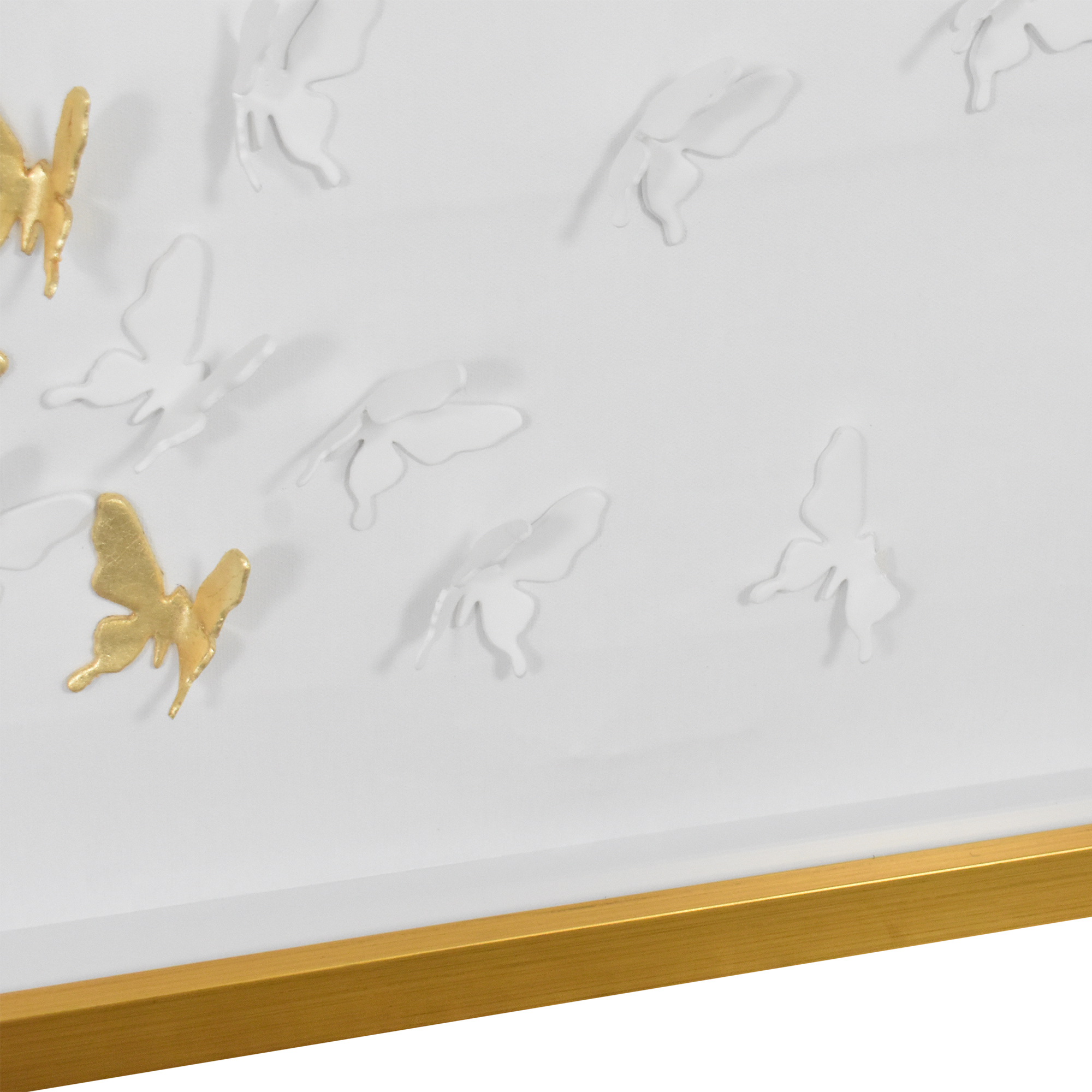 Modsy Modsy Framed Golden Butterfly III Wall Art ct