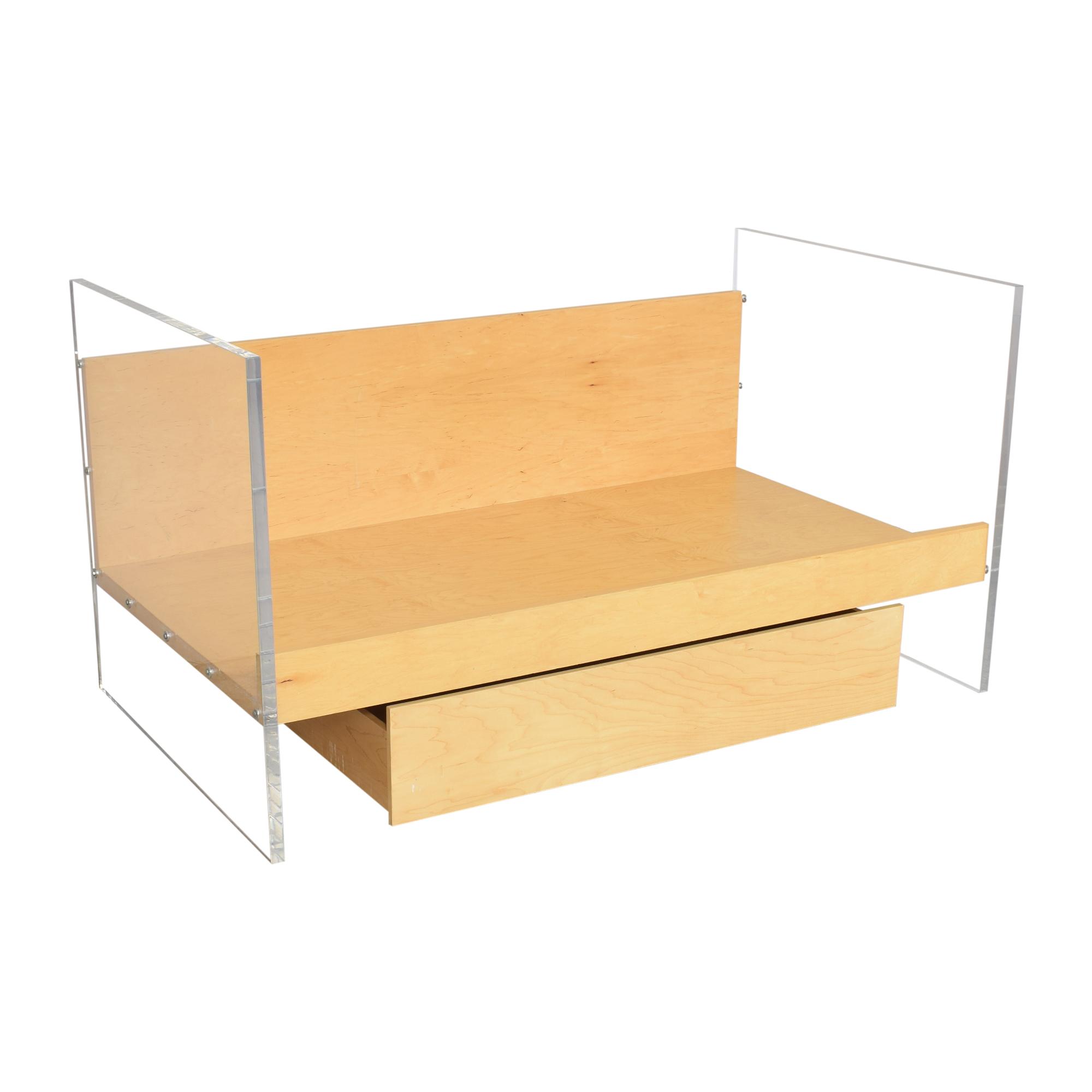 Custom Twin Storage Bed