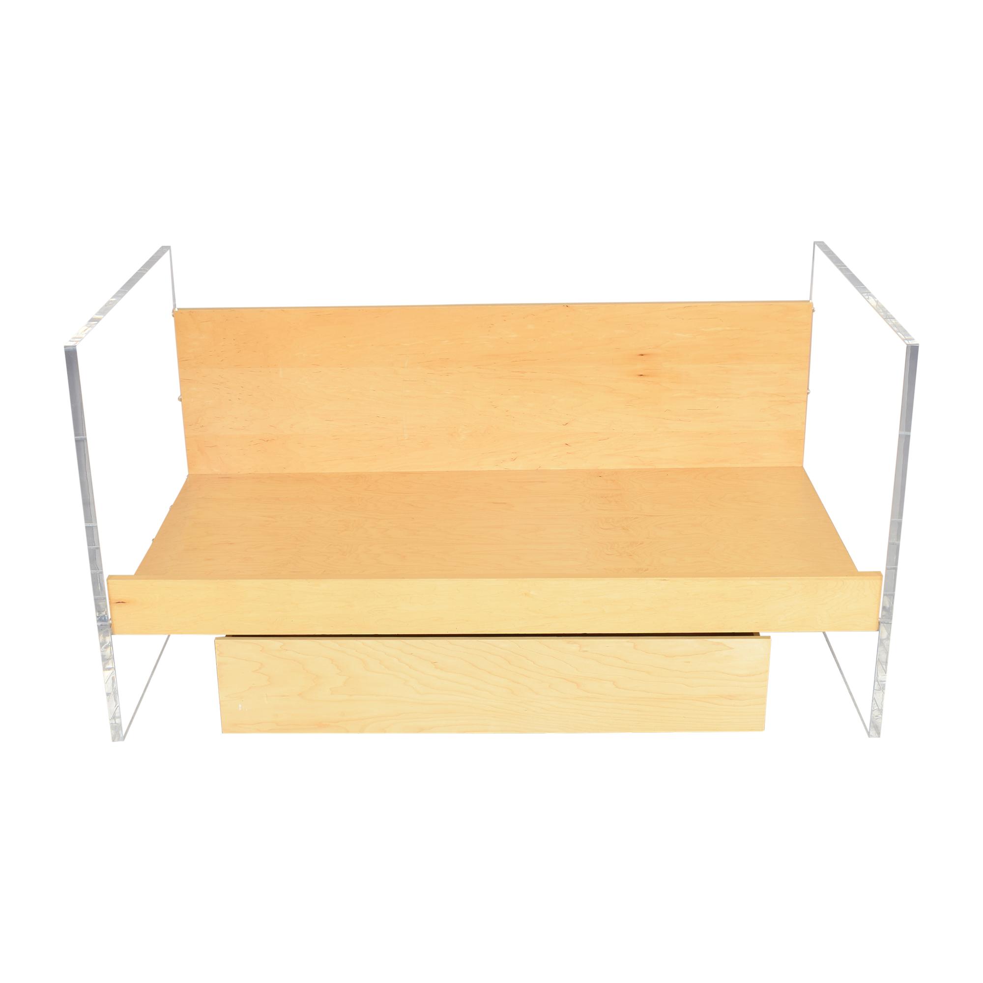 Custom Twin Storage Bed pa