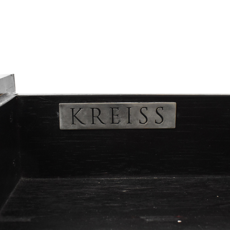 Kreiss Kreiss Two Drawer Nightstand on sale