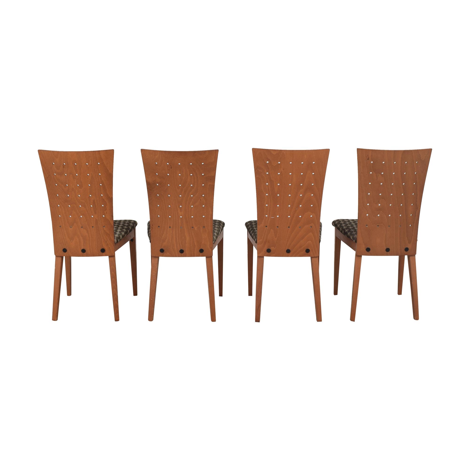 Door Store Door Store High Back Dining Chairs multi