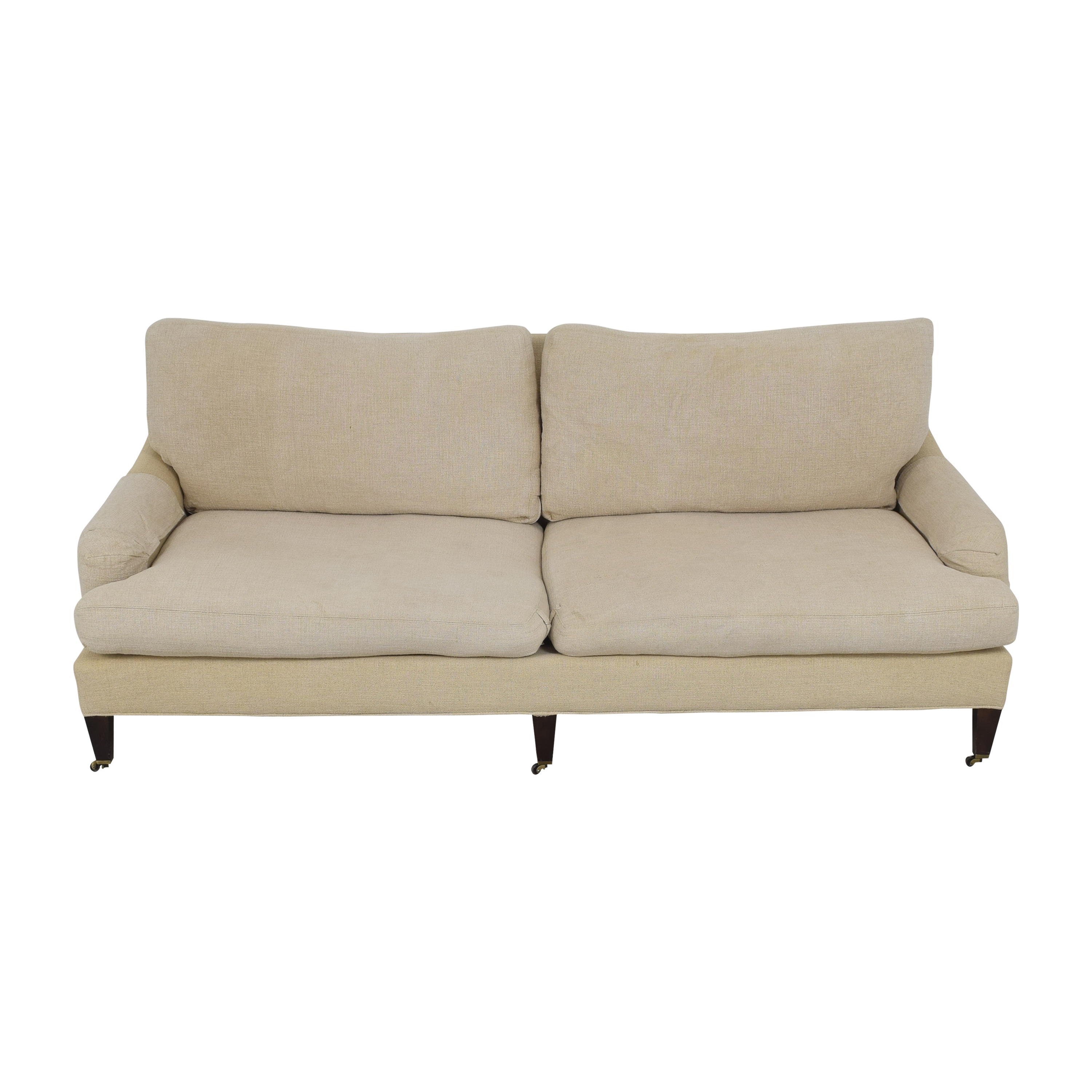 Crate & Barrel Crate & Barrel Essex Sofa with Casters used