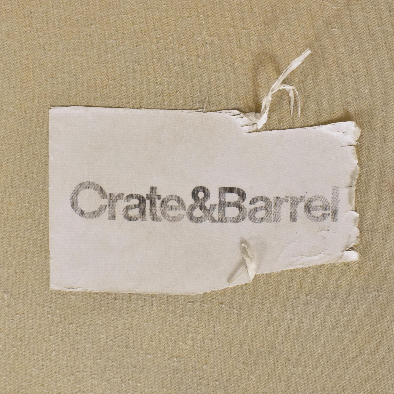 shop Crate & Barrel Crate & Barrel Essex Sofa with Casters online
