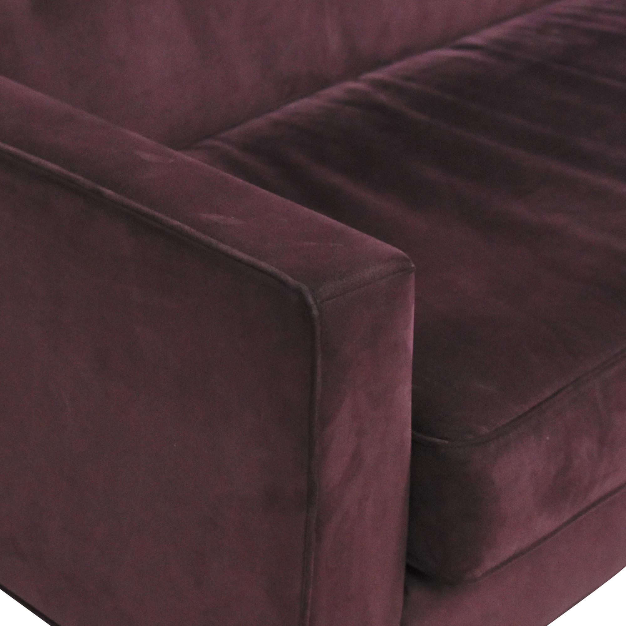 buy Design Within Reach Bantam Sofa Design Within Reach