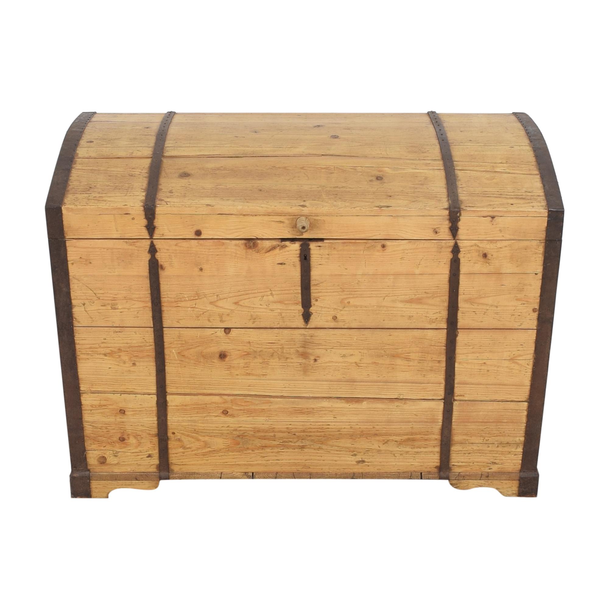 Rustic Storage Trunk Storage