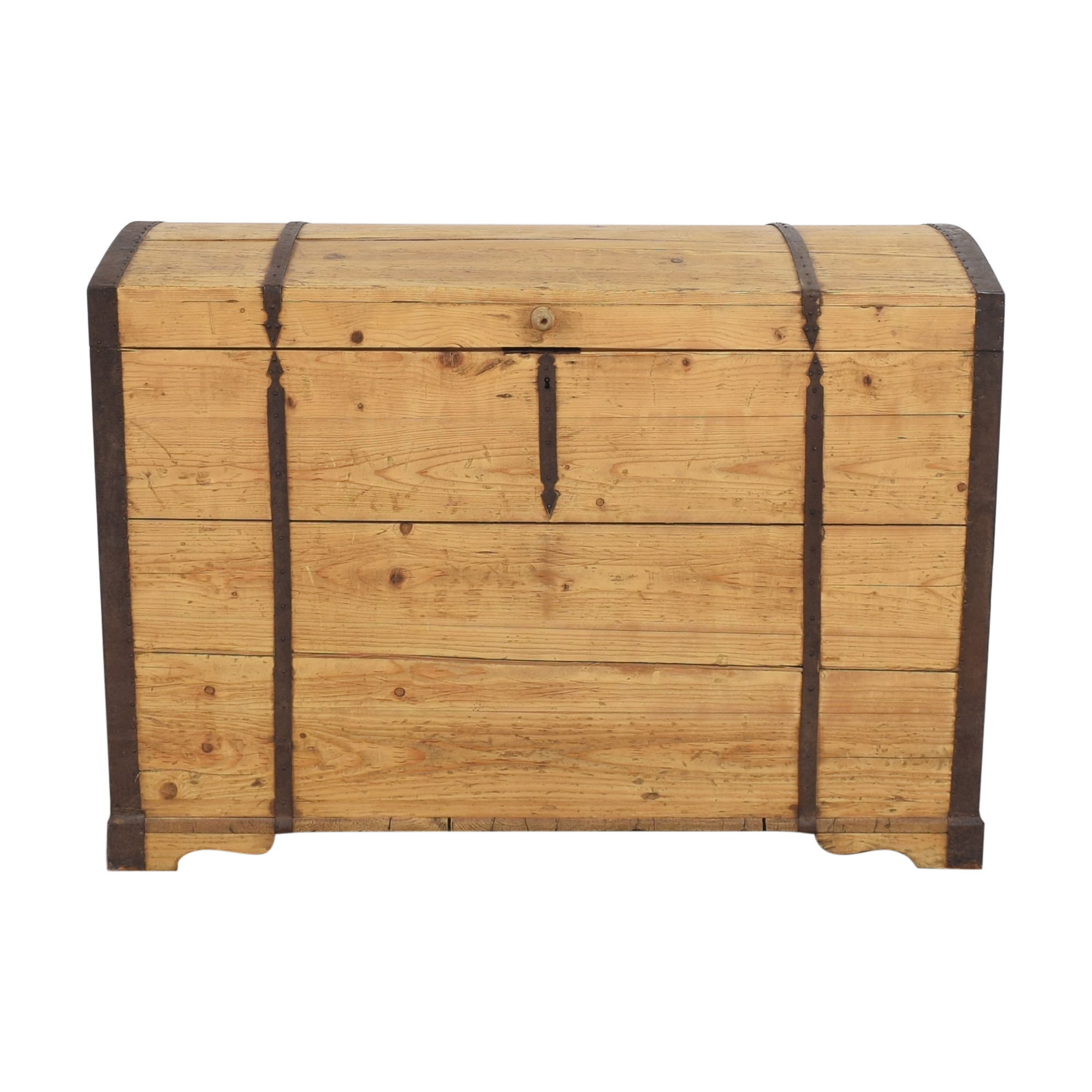 shop Rustic Storage Trunk  Trunks