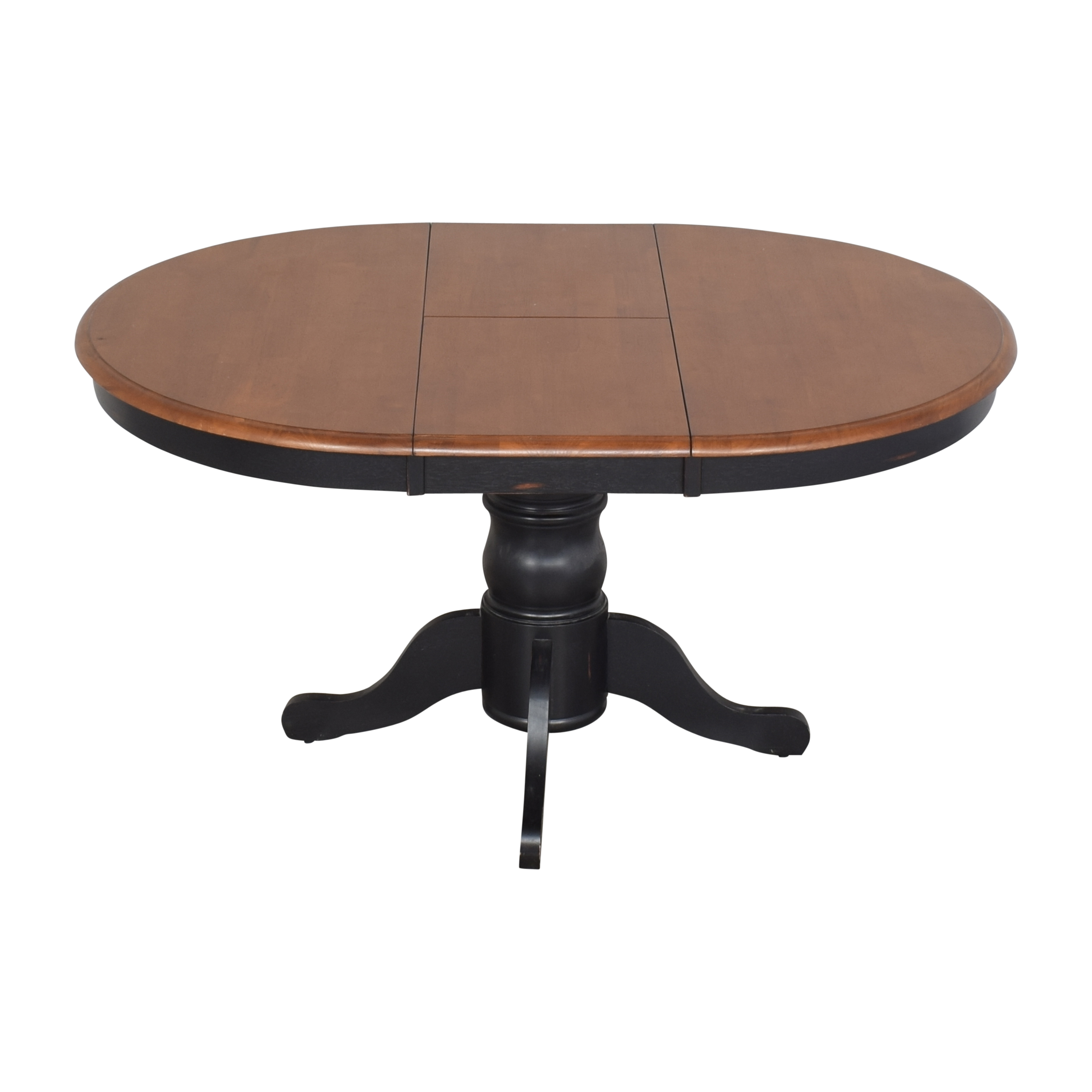 shop Bloomingdale's Round Extendable Dining Table Bloomingdale's Tables