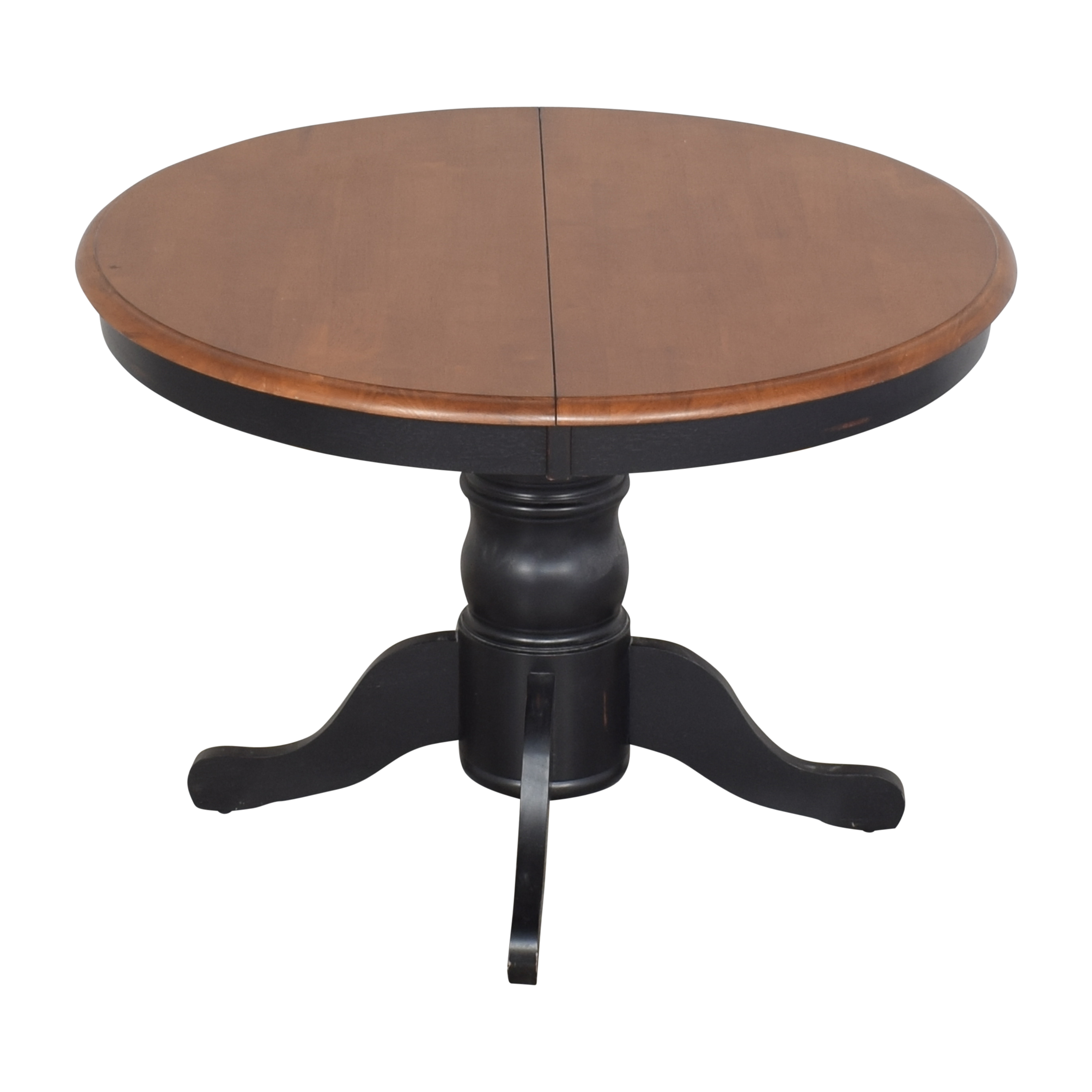 Bloomingdale's Round Extendable Dining Table sale