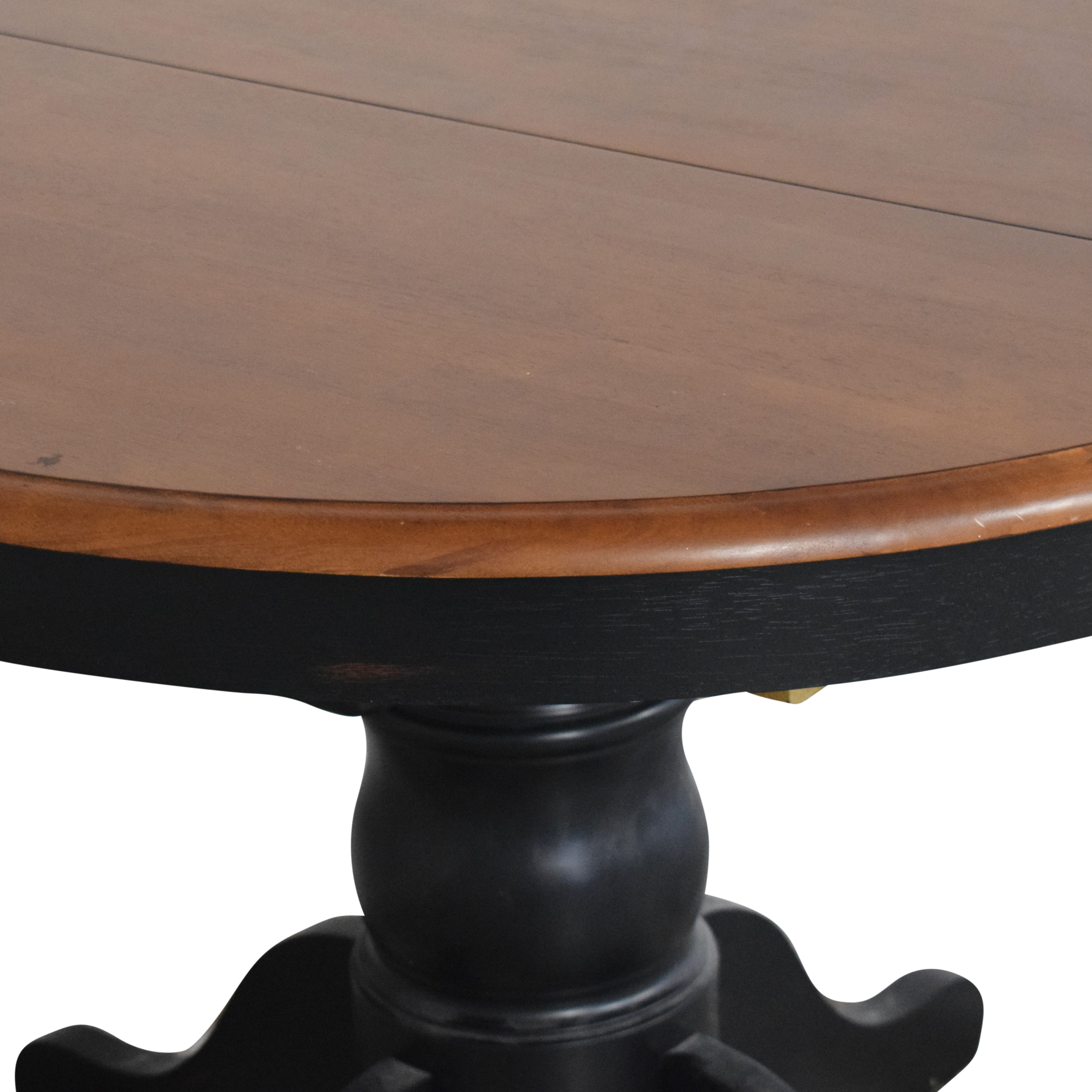 Bloomingdale's Bloomingdale's Round Extendable Dining Table on sale