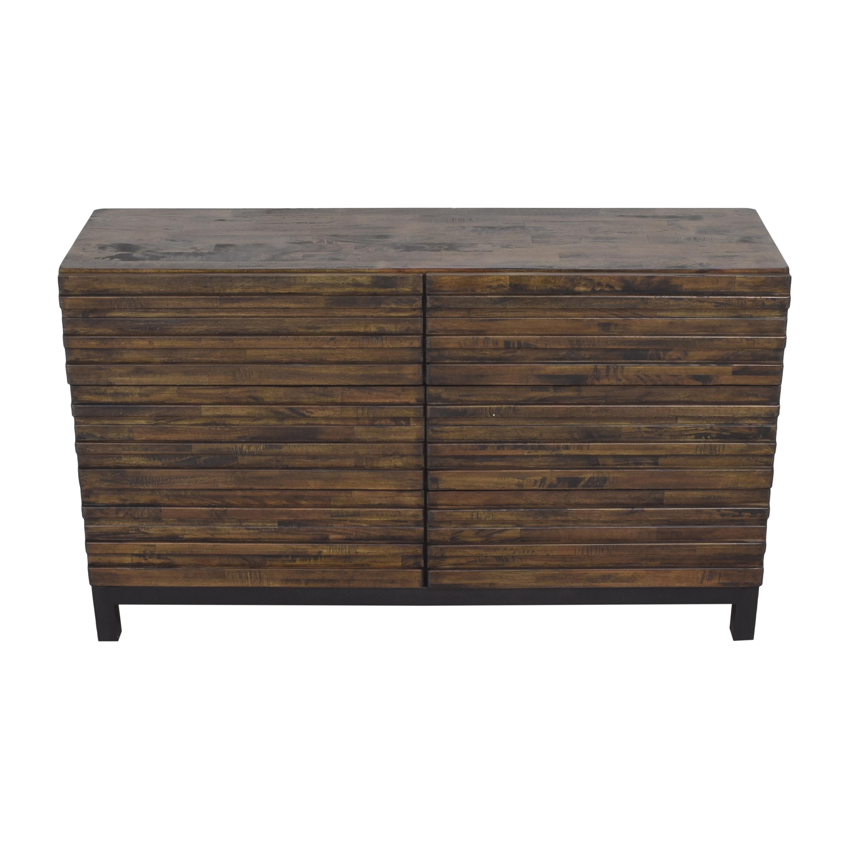 Raymour & Flanigan Raymour & Flanigan Nara Six Drawer Double Dresser used
