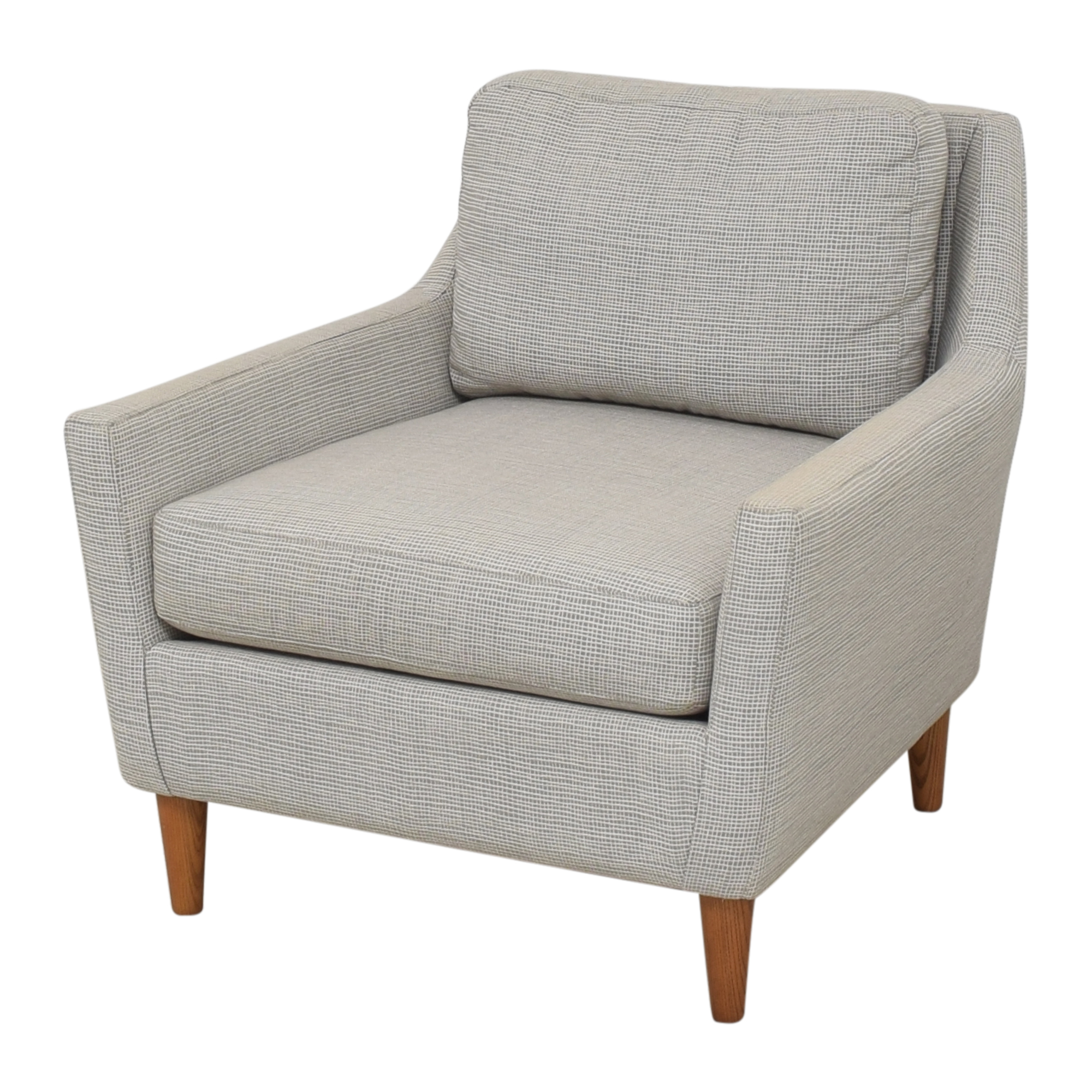 West Elm West Elm Everett Chair light grey