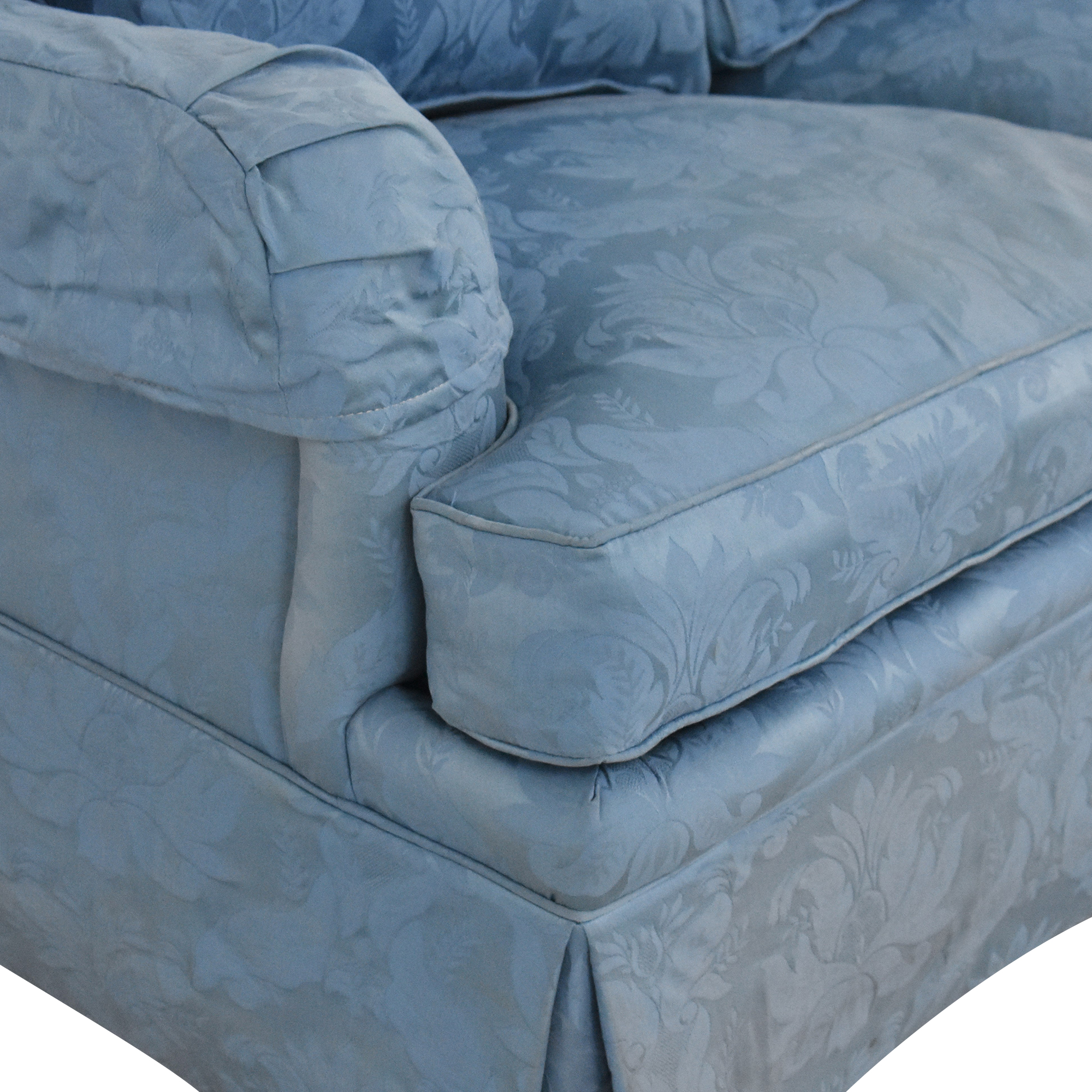 Sherrill Furniture Sherrill Furniture Damask Sleeper Sofa second hand