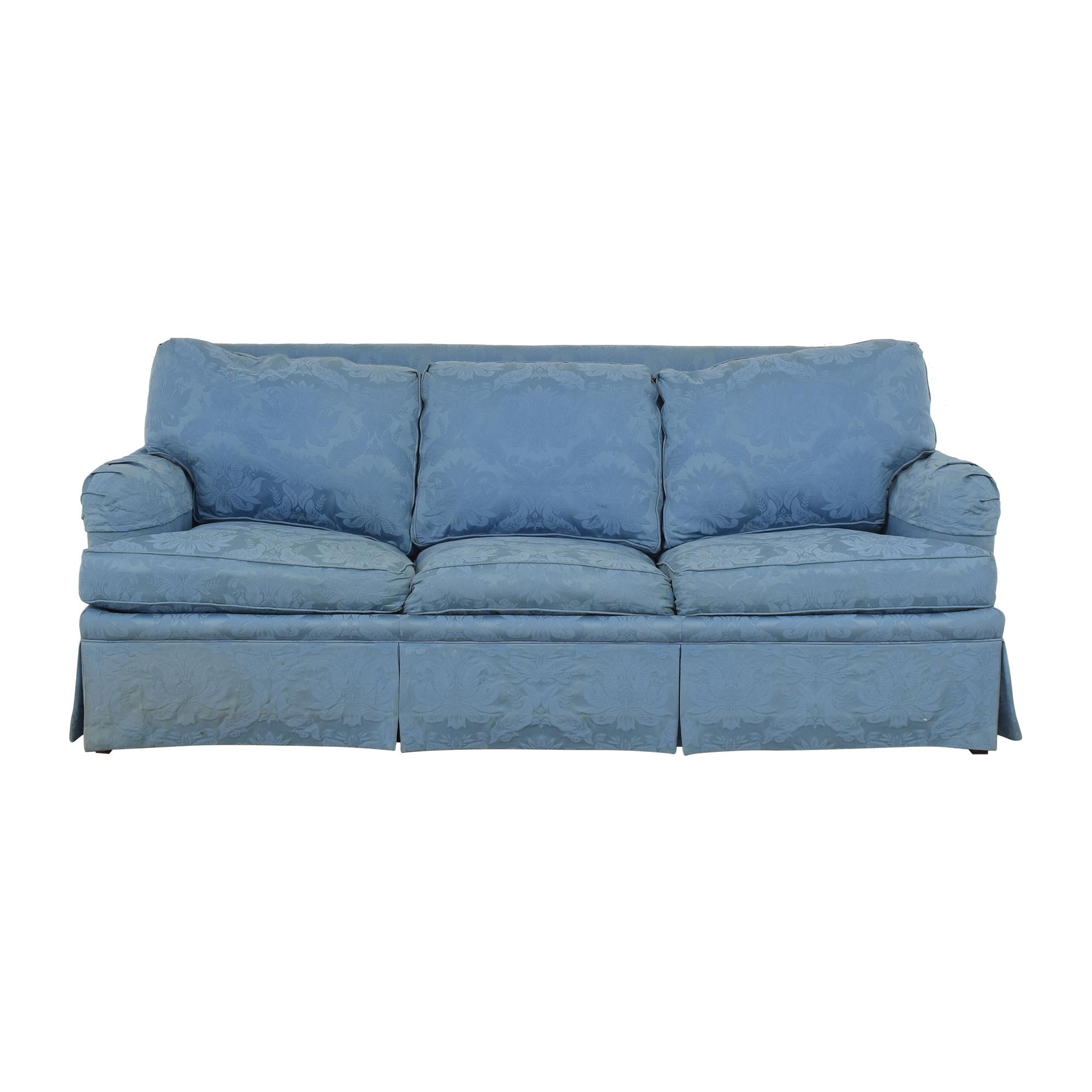 shop Sherrill Furniture Damask Sleeper Sofa Sherrill Furniture Sofas