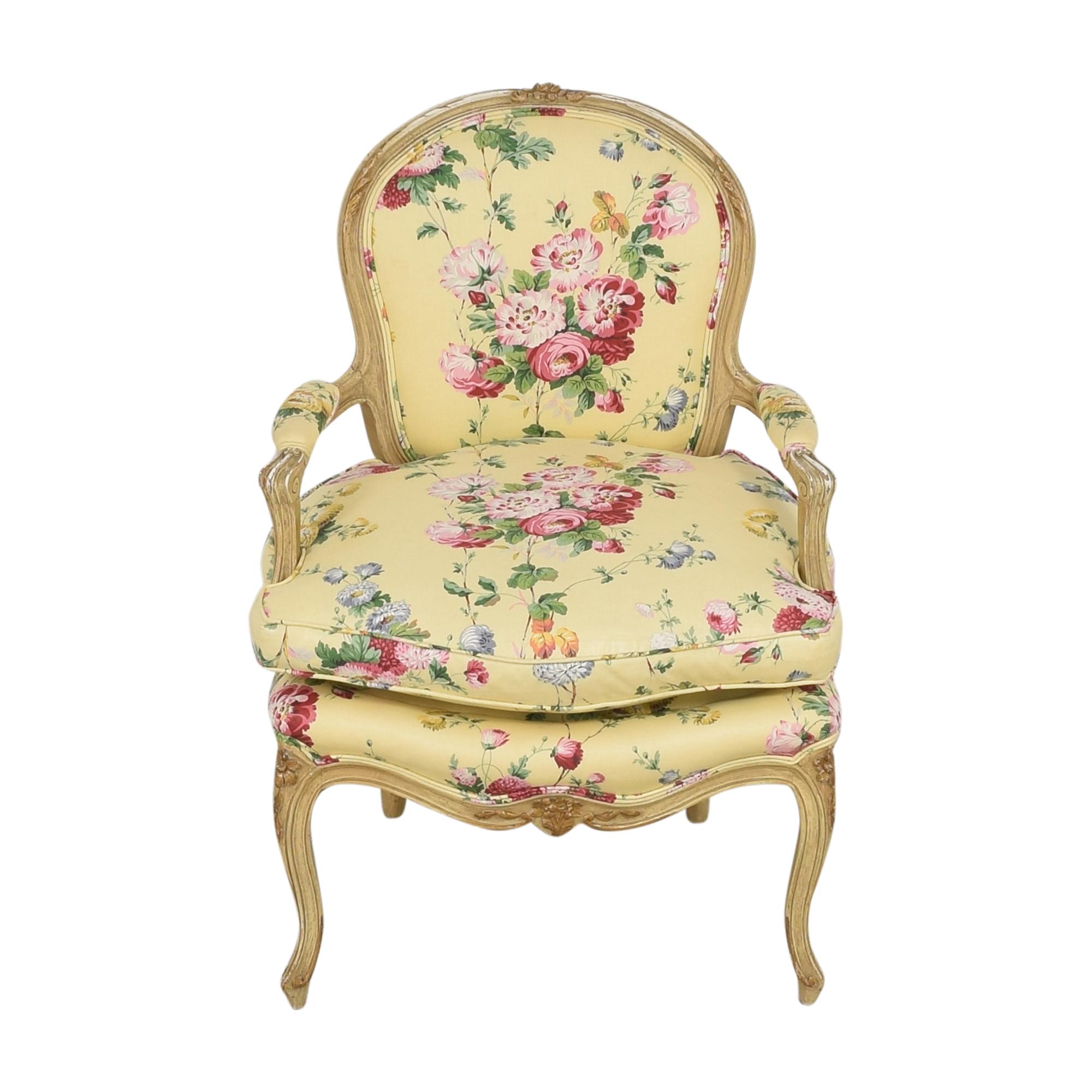 Brunschwig & Fils Custom Floral Chair / Chairs