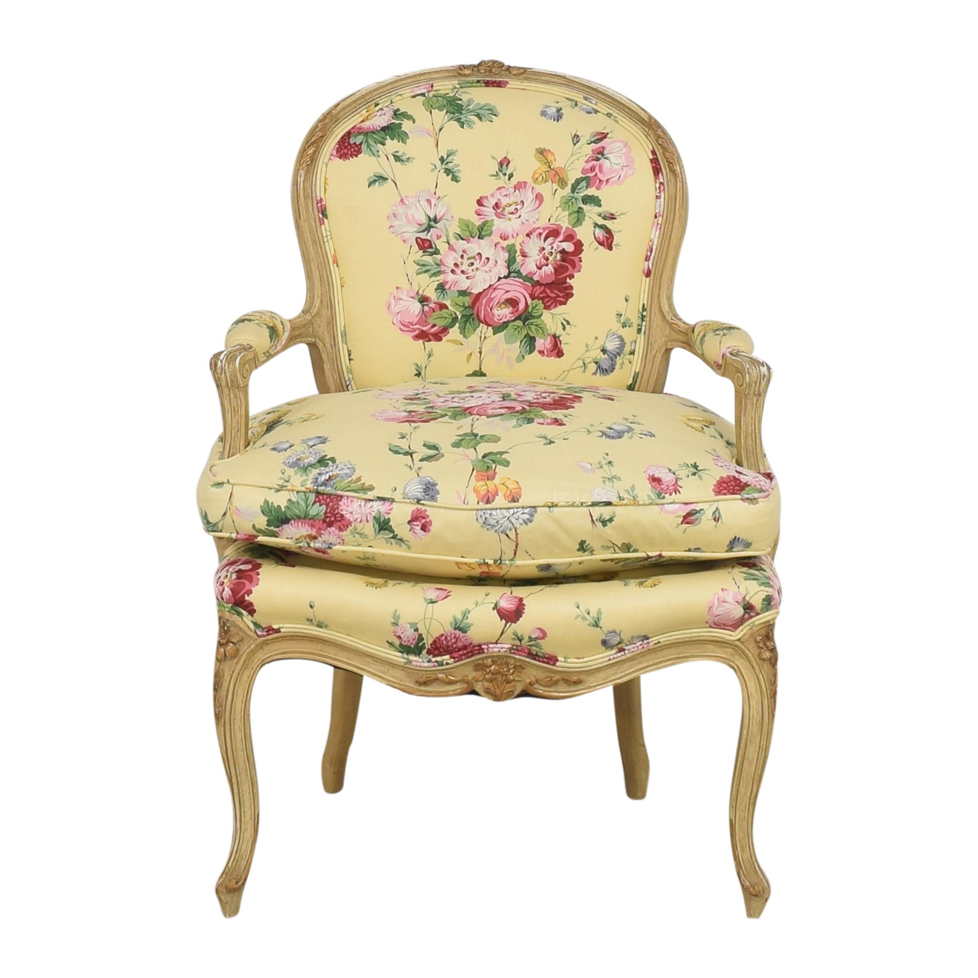 Brunschwig & Fils Brunschwig & Fils Custom Floral Chair ma
