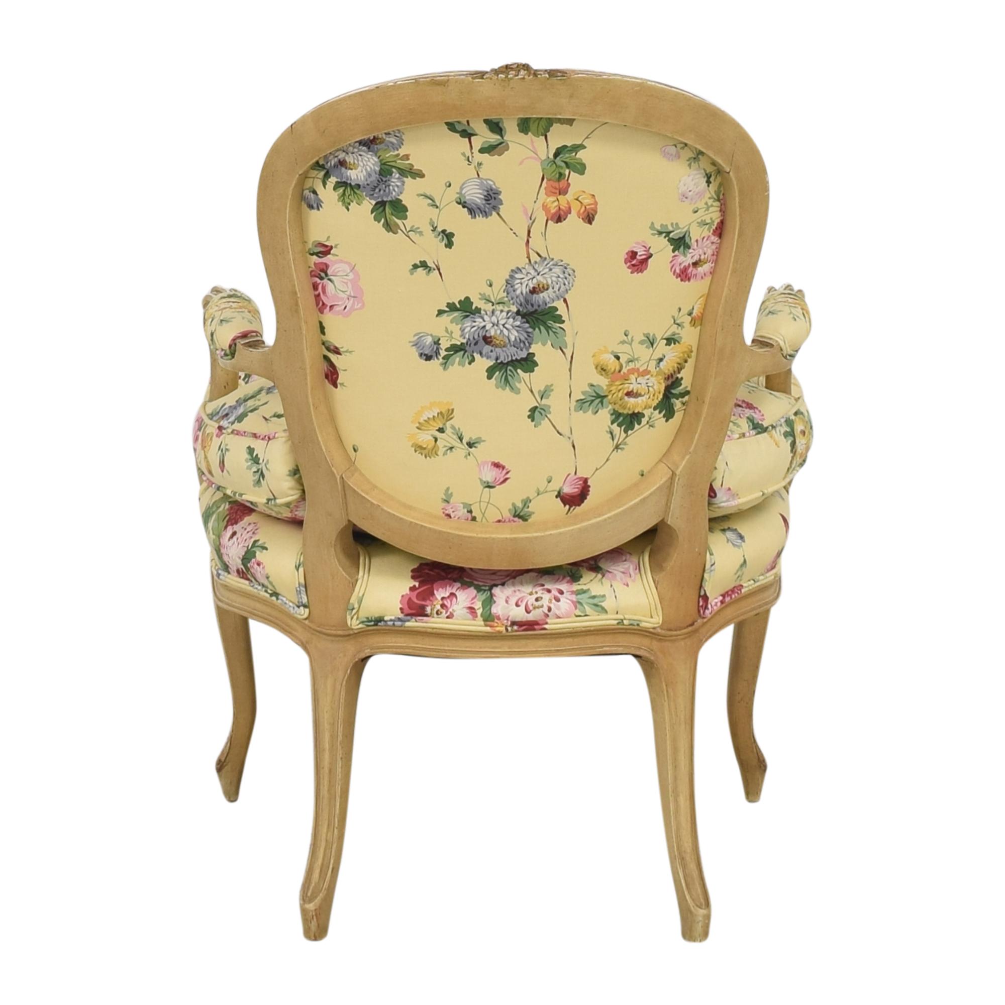 buy Brunschwig & Fils Custom Floral Chair Brunschwig & Fils