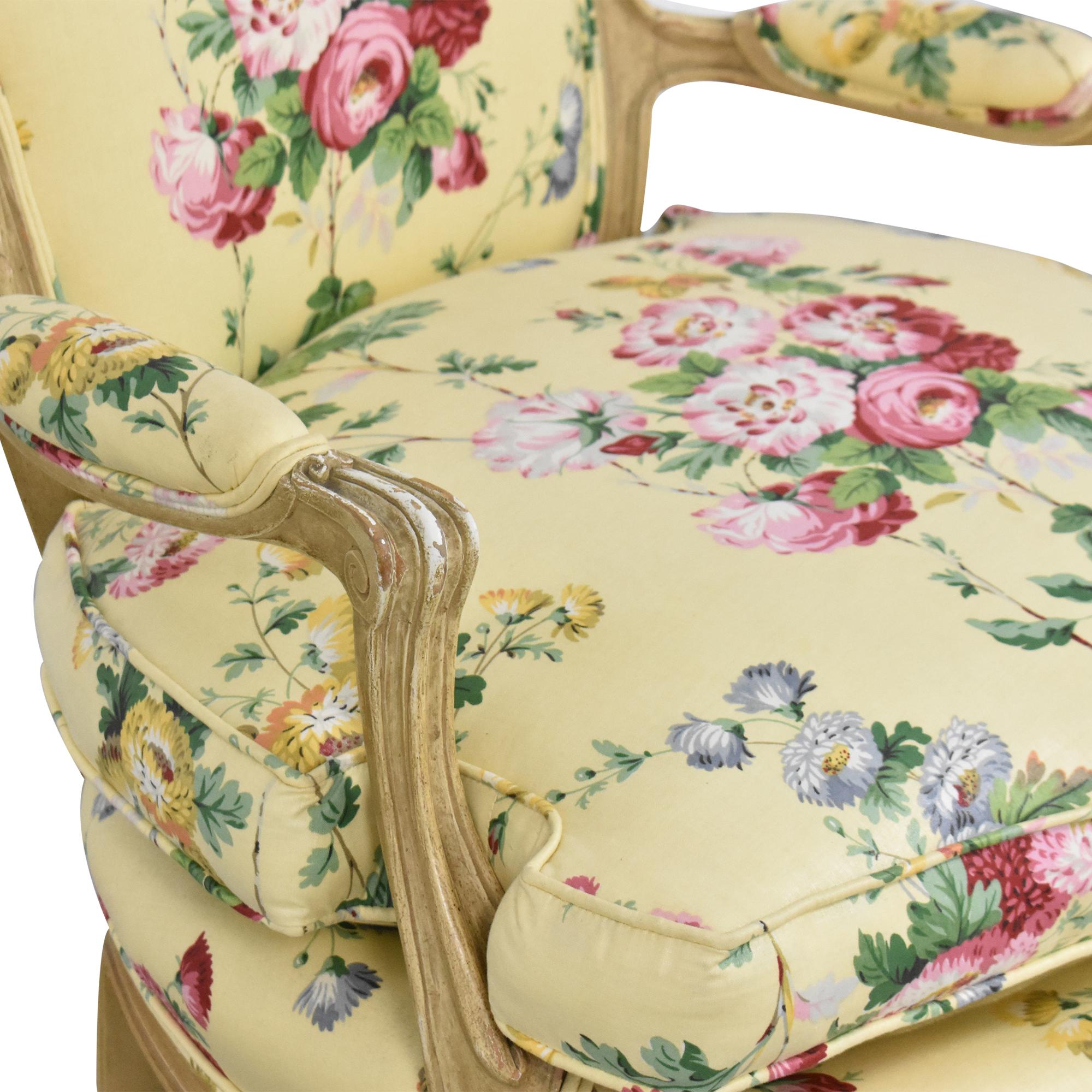 Brunschwig & Fils Brunschwig & Fils Custom Floral Chair coupon