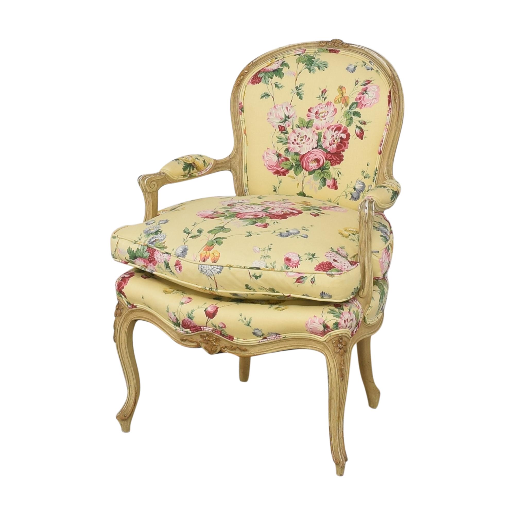 Brunschwig & Fils Brunschwig & Fils Custom Floral Chair second hand