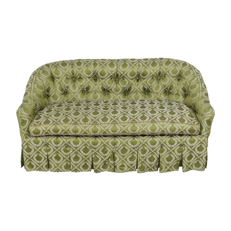 shop Custom Tufted Sofa