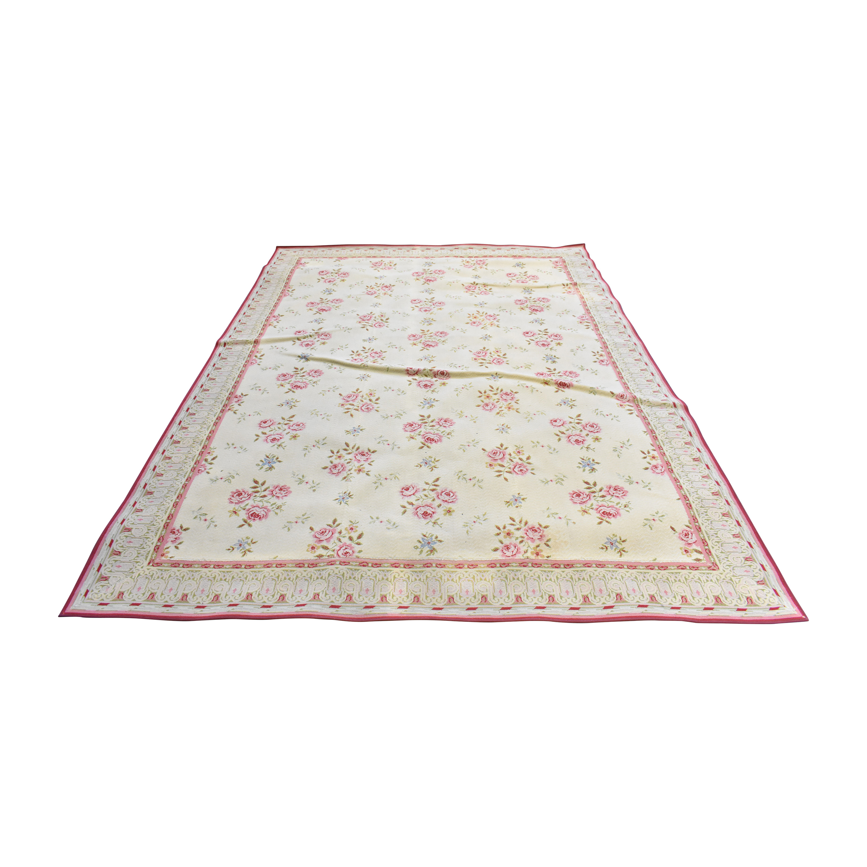 Stark Carpet Stark Carpet Floral Area Rug used