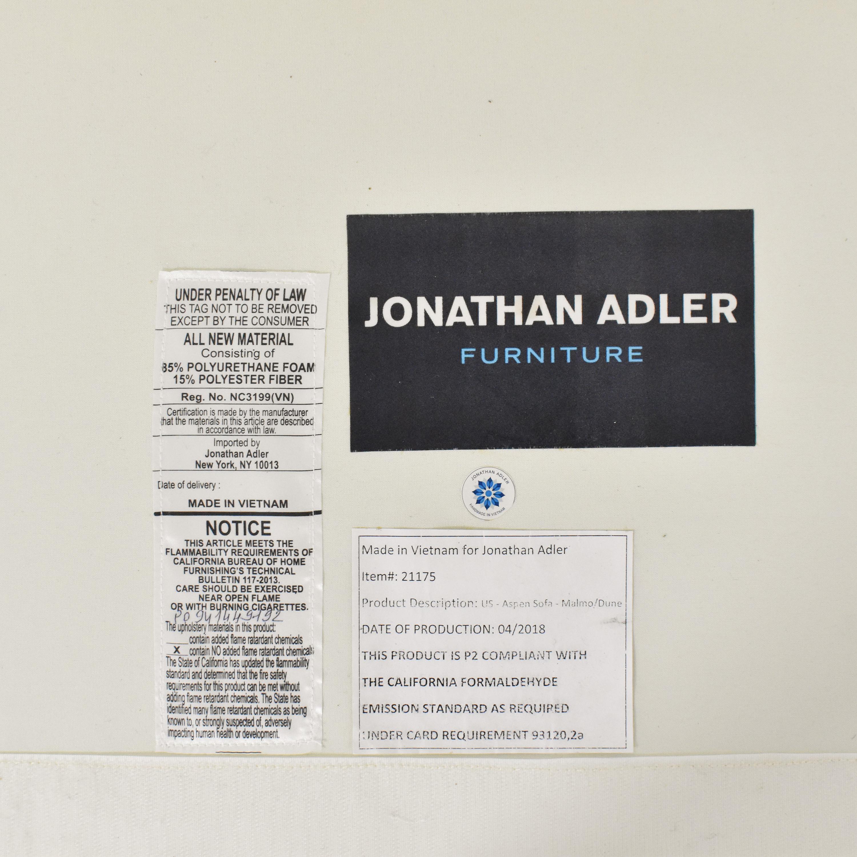 Jonathan Adler Aspen Sofa sale
