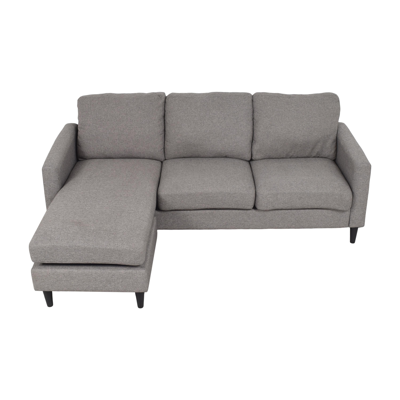 shop Wayfair Wayfair Zipcode Designs Cazenovia Sectional Sofa online