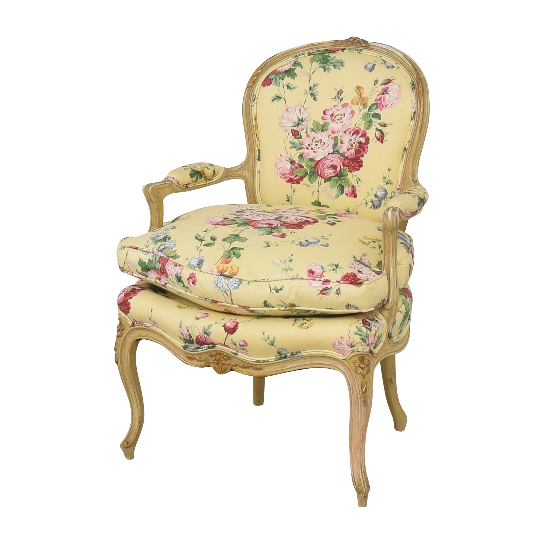 shop Brunschwig & Fils Custom Floral Chair Brunschwig & Fils
