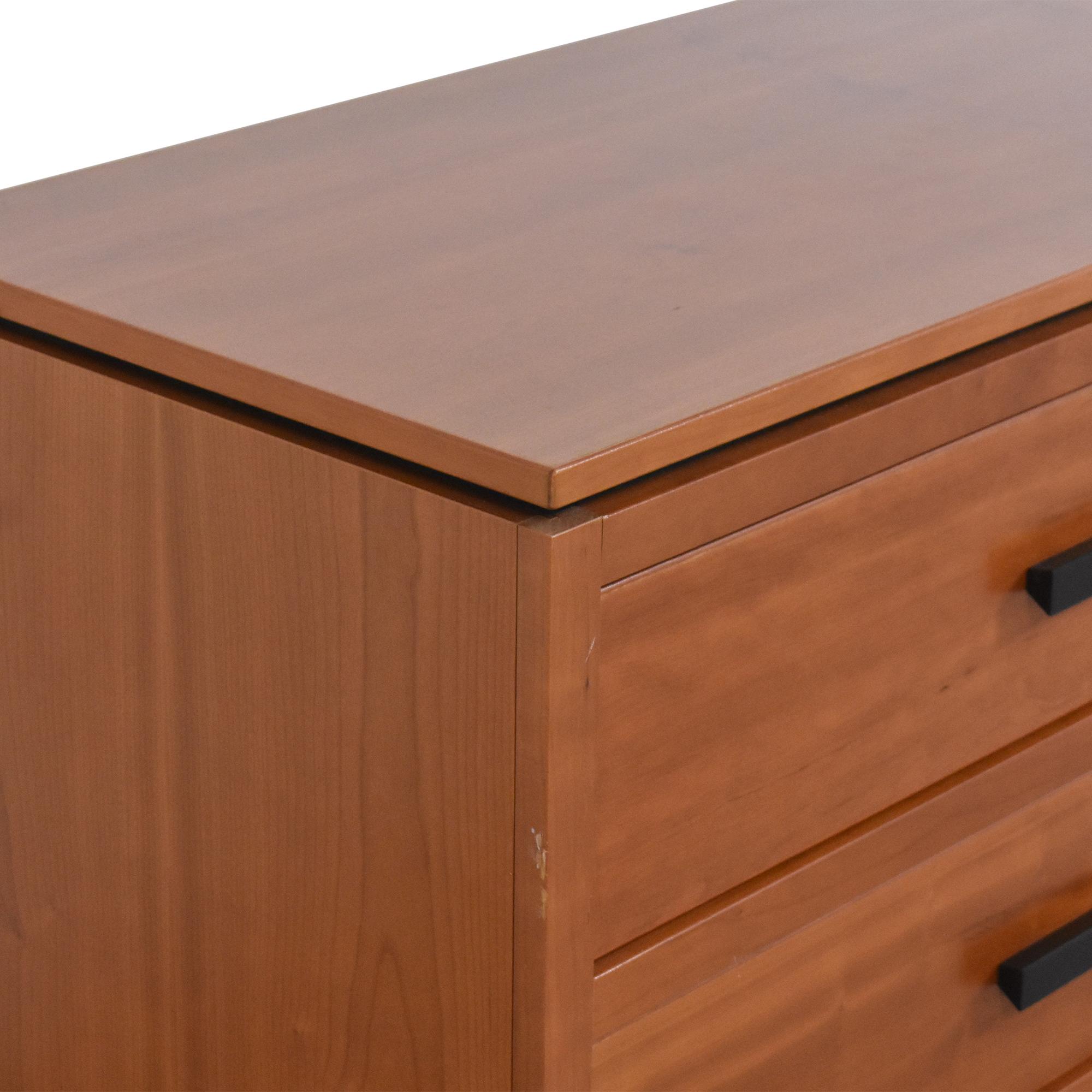 Workbench Workbench Six Drawer Double Dresser for sale