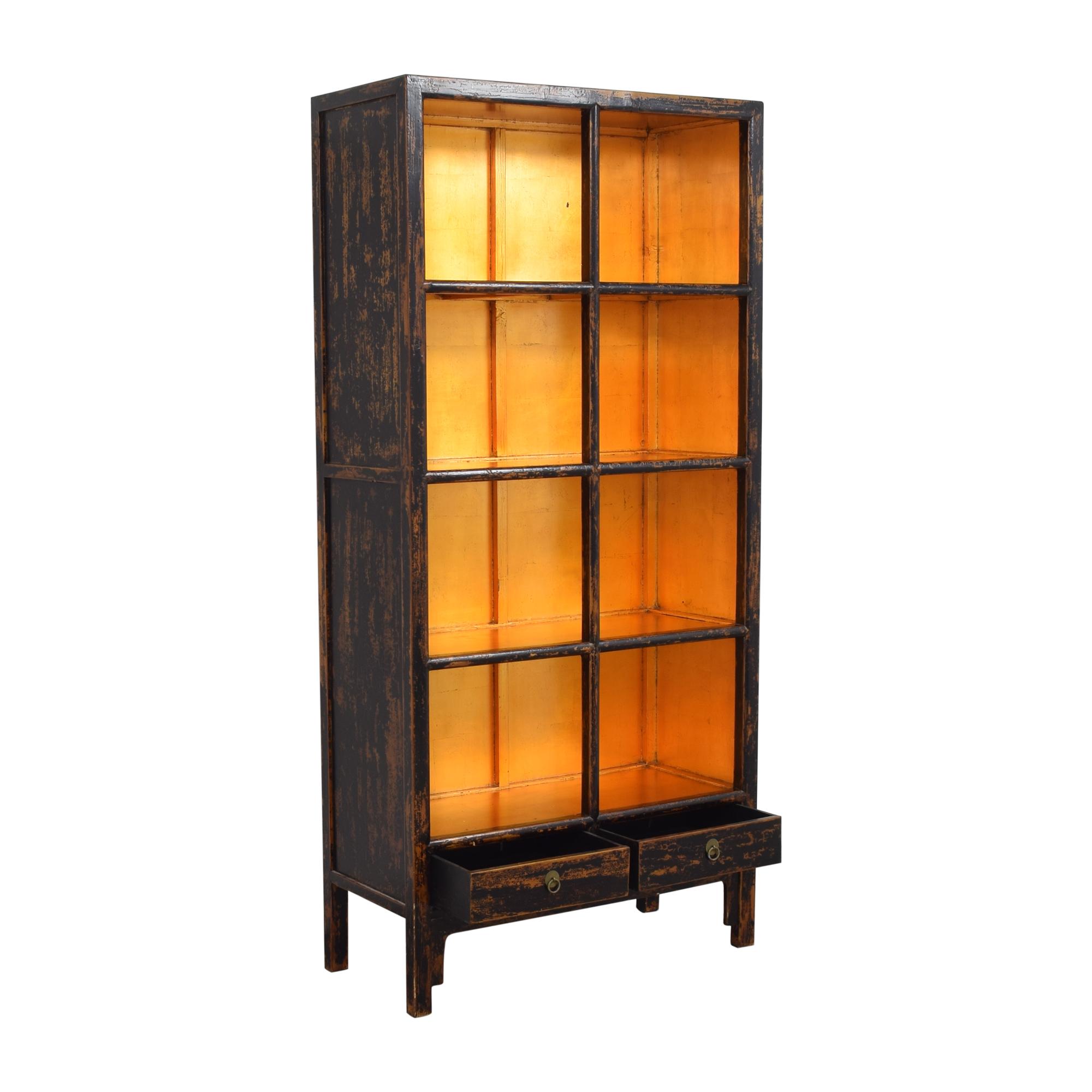 buy Decorative Four Shelf Bookcase  Storage