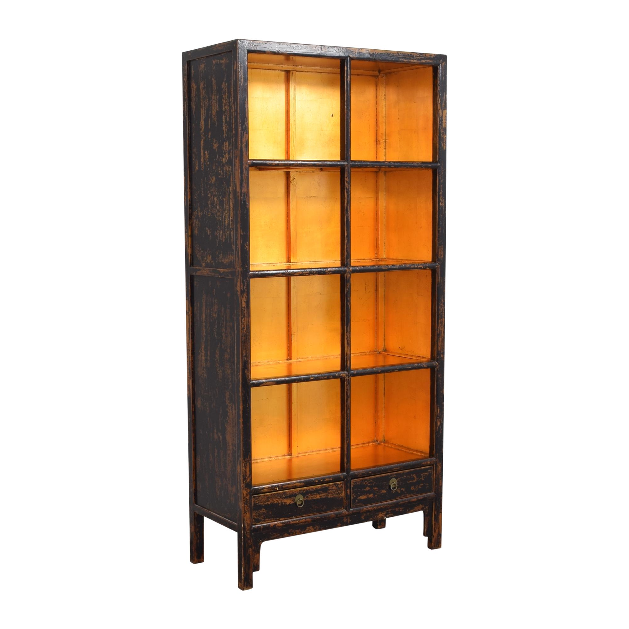 Decorative Four Shelf Bookcase ma