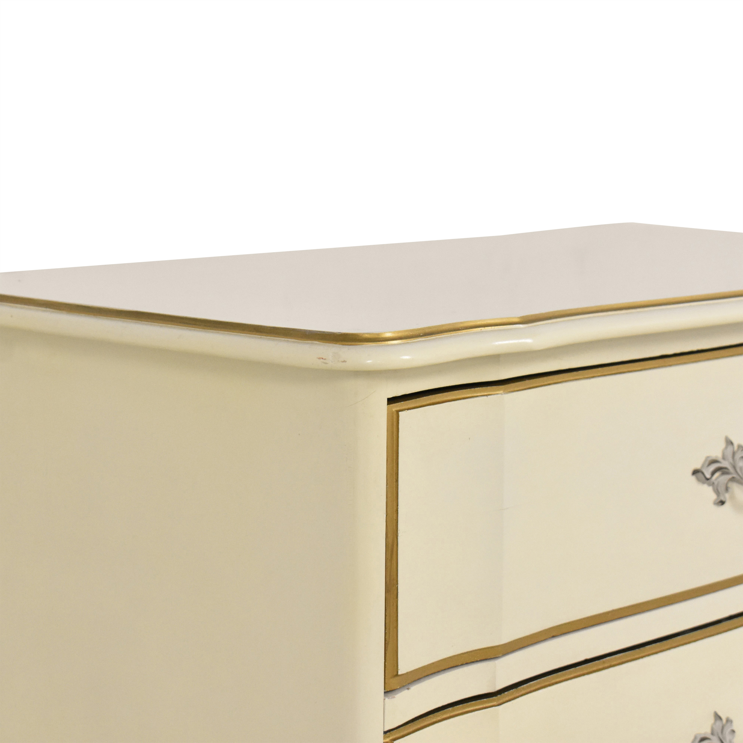 Dixie Furniture Company Dixie French-Style Highboy Chest nj