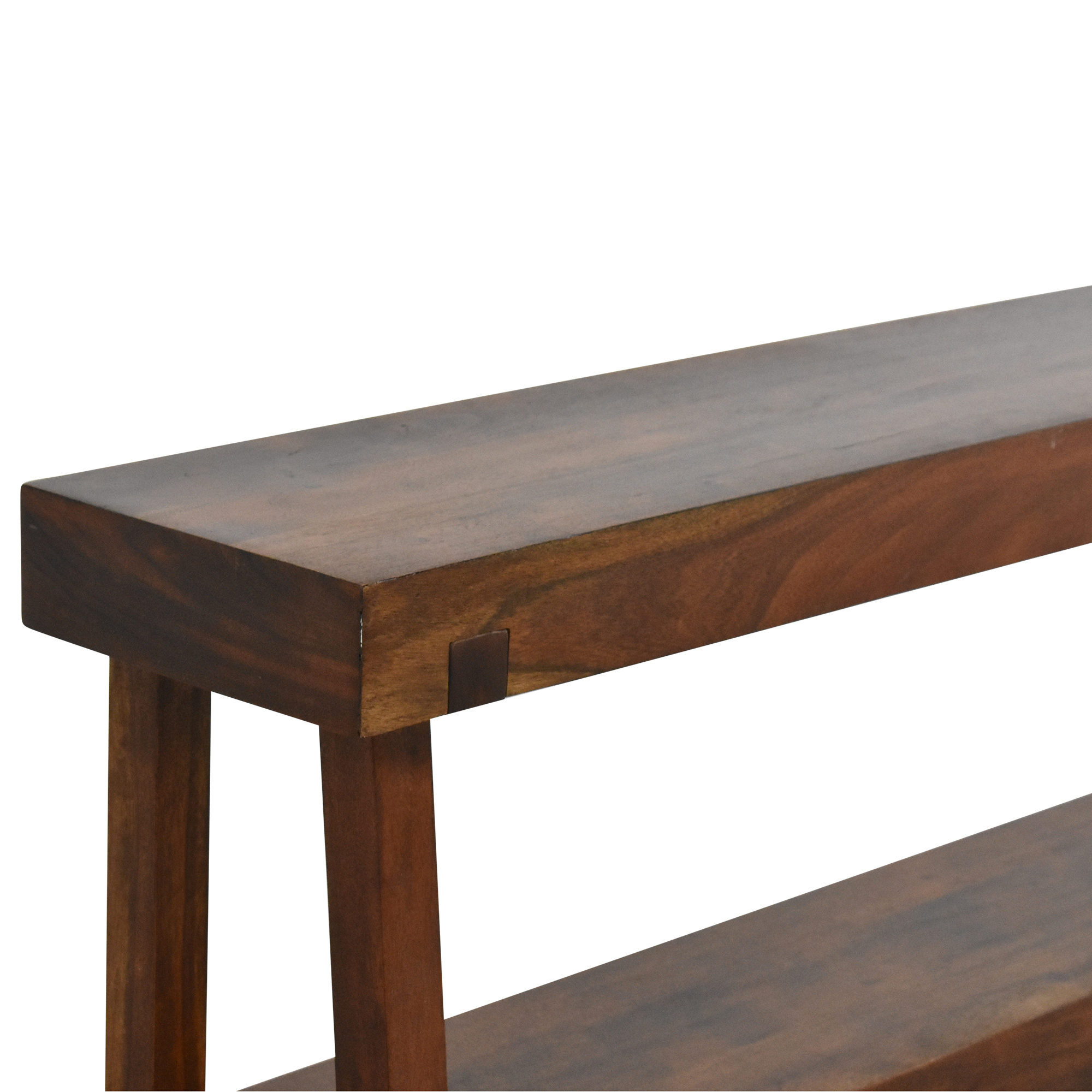 shop West Elm Rustic Console Table West Elm