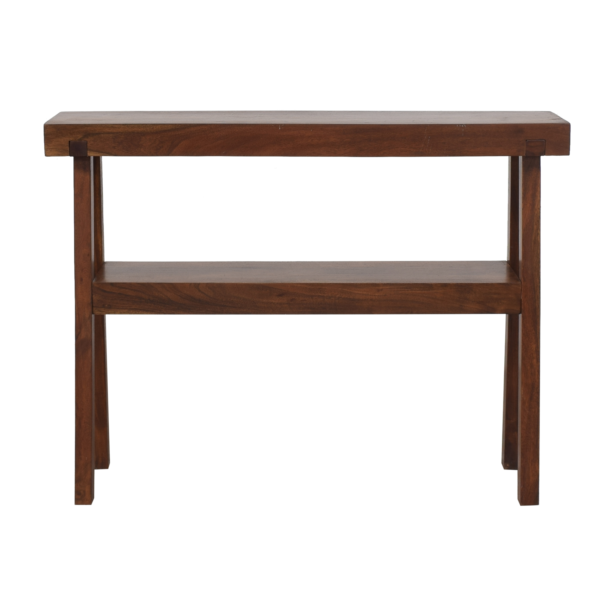 West Elm West Elm Rustic Console Table discount