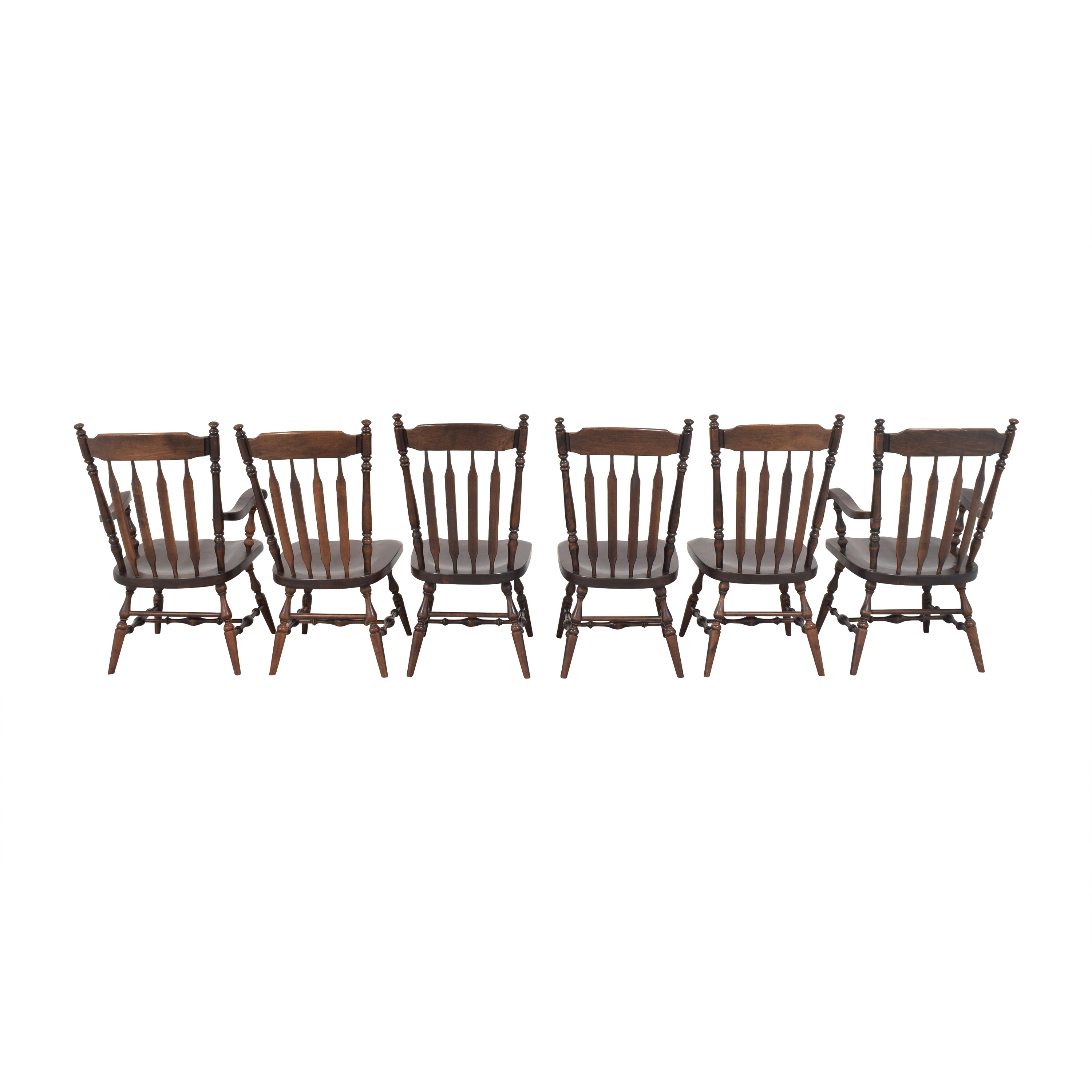 shop Ethan Allen Windsor Dining Chairs Ethan Allen Chairs
