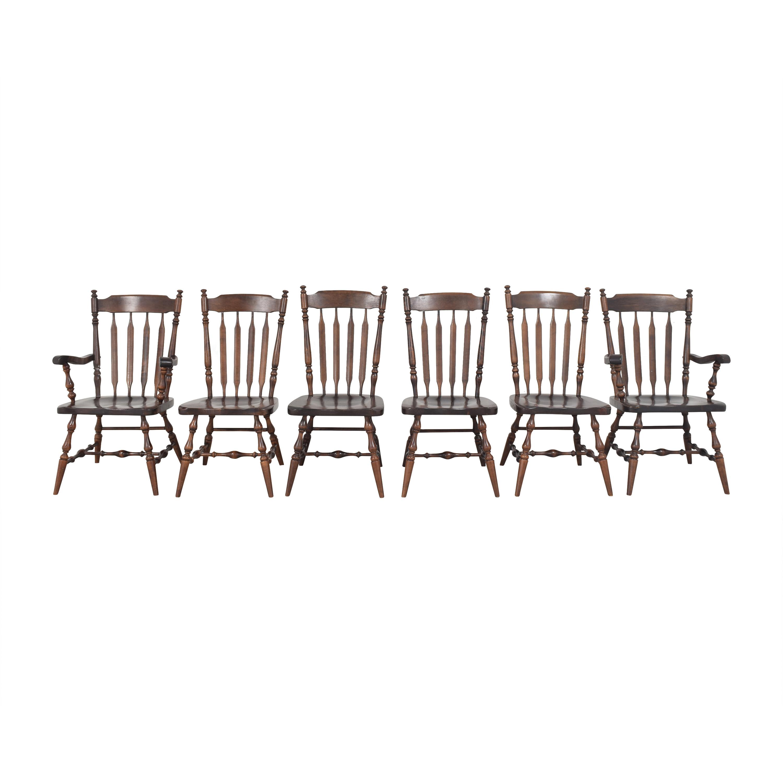 Ethan Allen Ethan Allen Windsor Dining Chairs discount