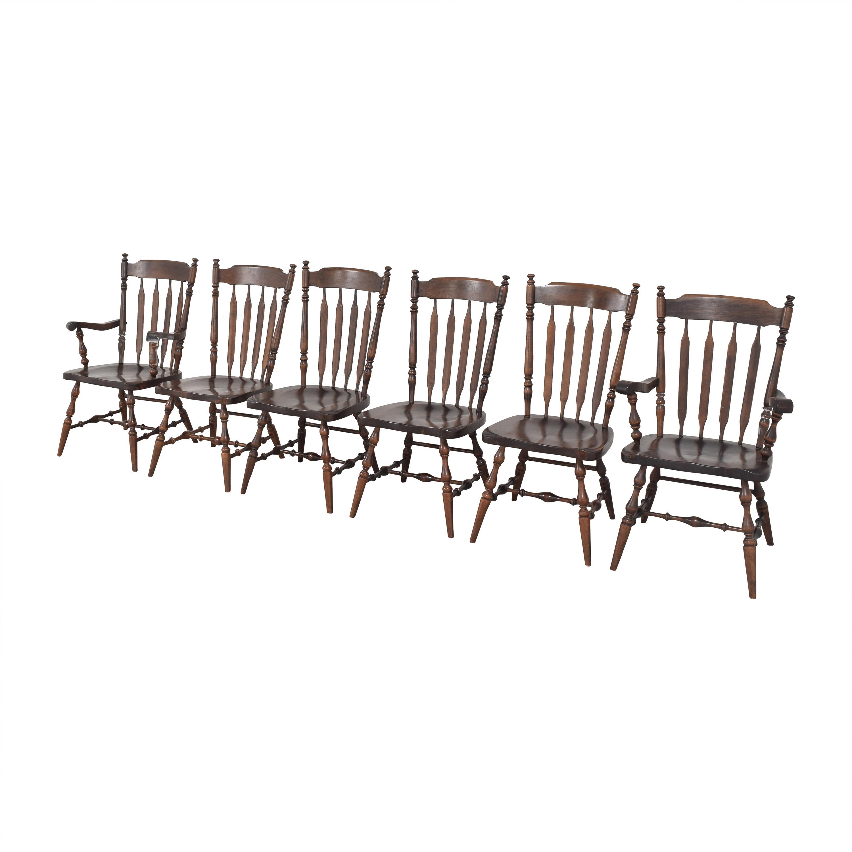 Ethan Allen Ethan Allen Windsor Dining Chairs second hand