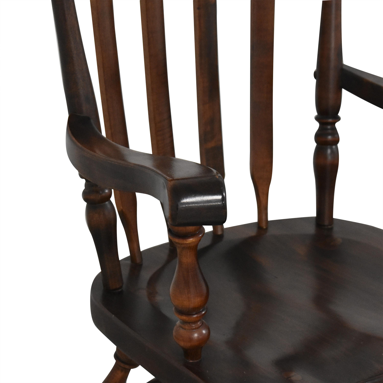 Ethan Allen Ethan Allen Windsor Dining Chairs dark brown